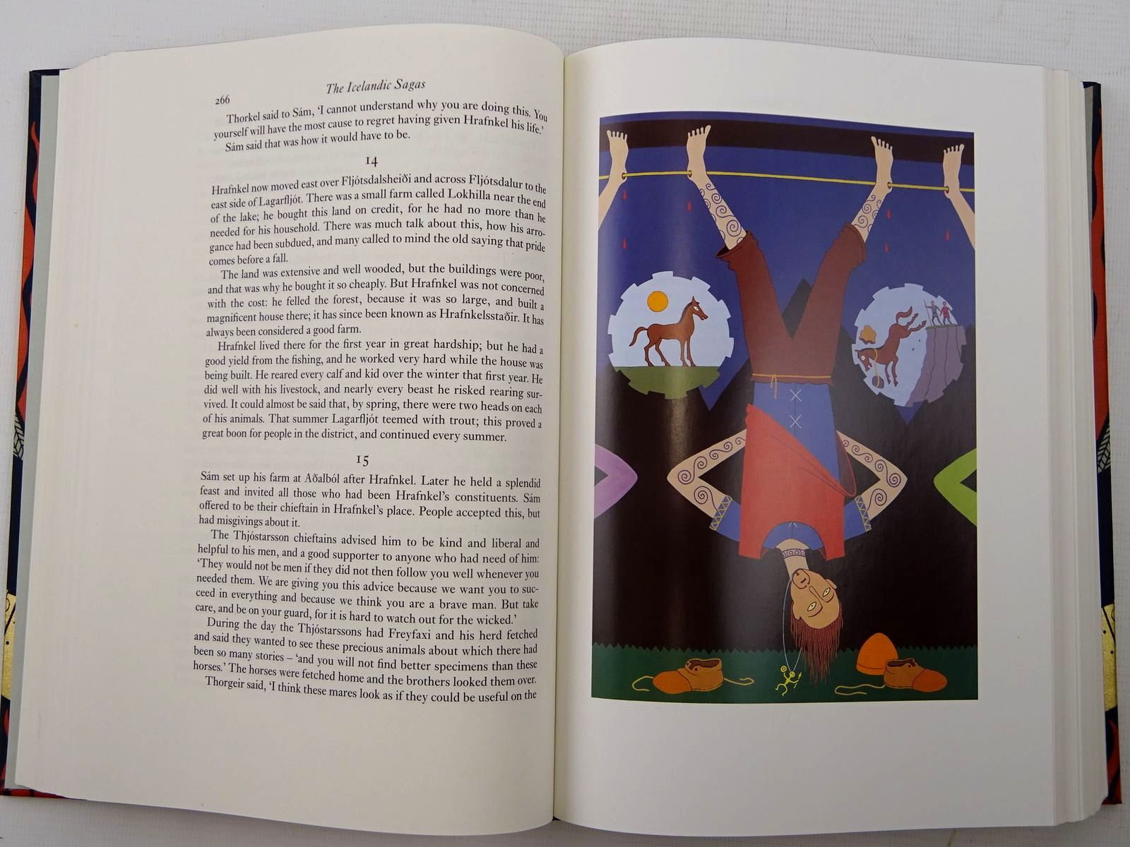 Photo of THE ICELANDIC SAGAS written by Magnusson, Magnus illustrated by Noyes, Simon published by Folio Society (STOCK CODE: 2125762)  for sale by Stella & Rose's Books