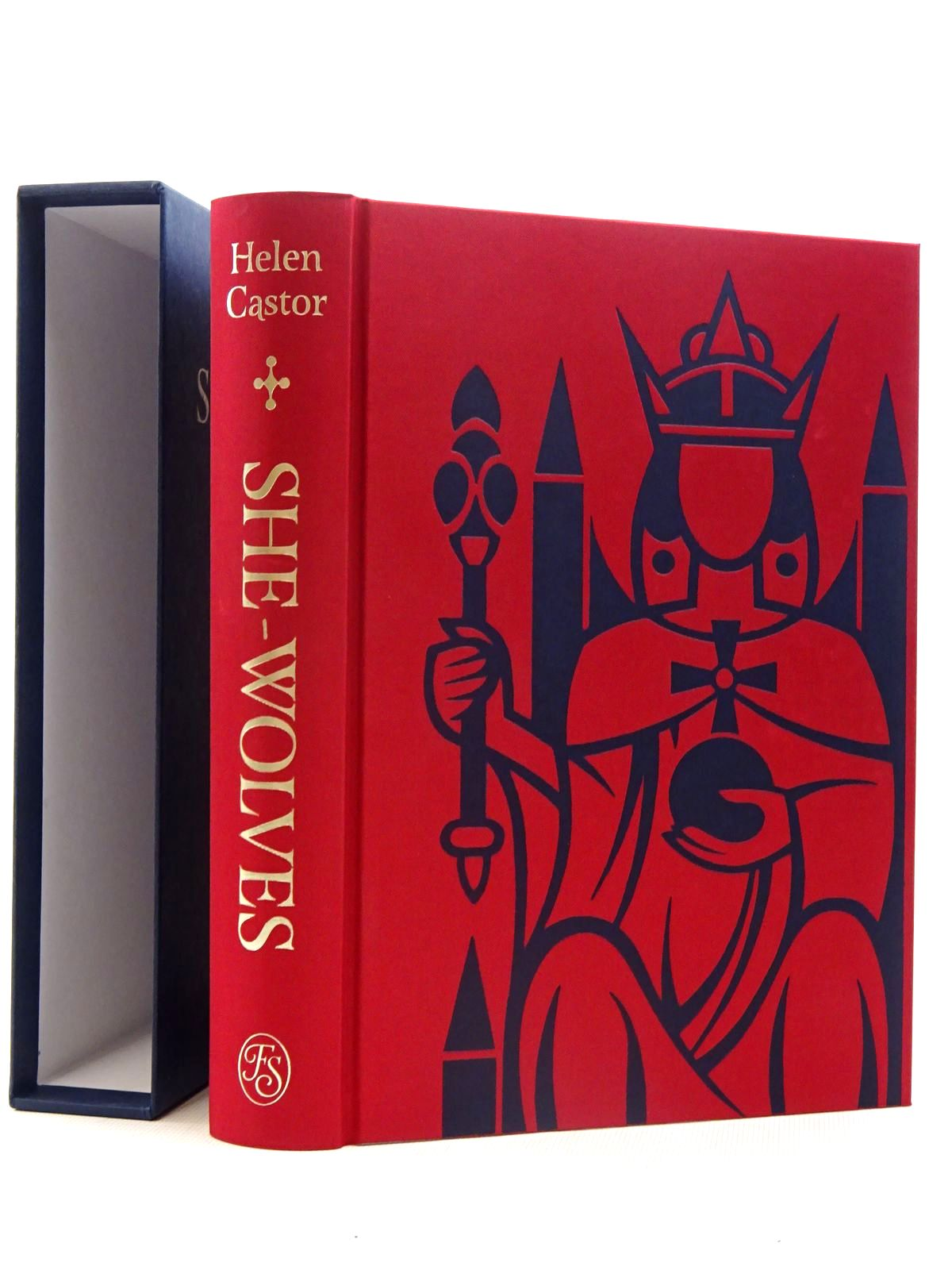 Photo of SHE-WOLVES THE WOMEN WHO RULED ENGLAND BEFORE ELIZABETH written by Castor, Helen published by Folio Society (STOCK CODE: 2125770)  for sale by Stella & Rose's Books