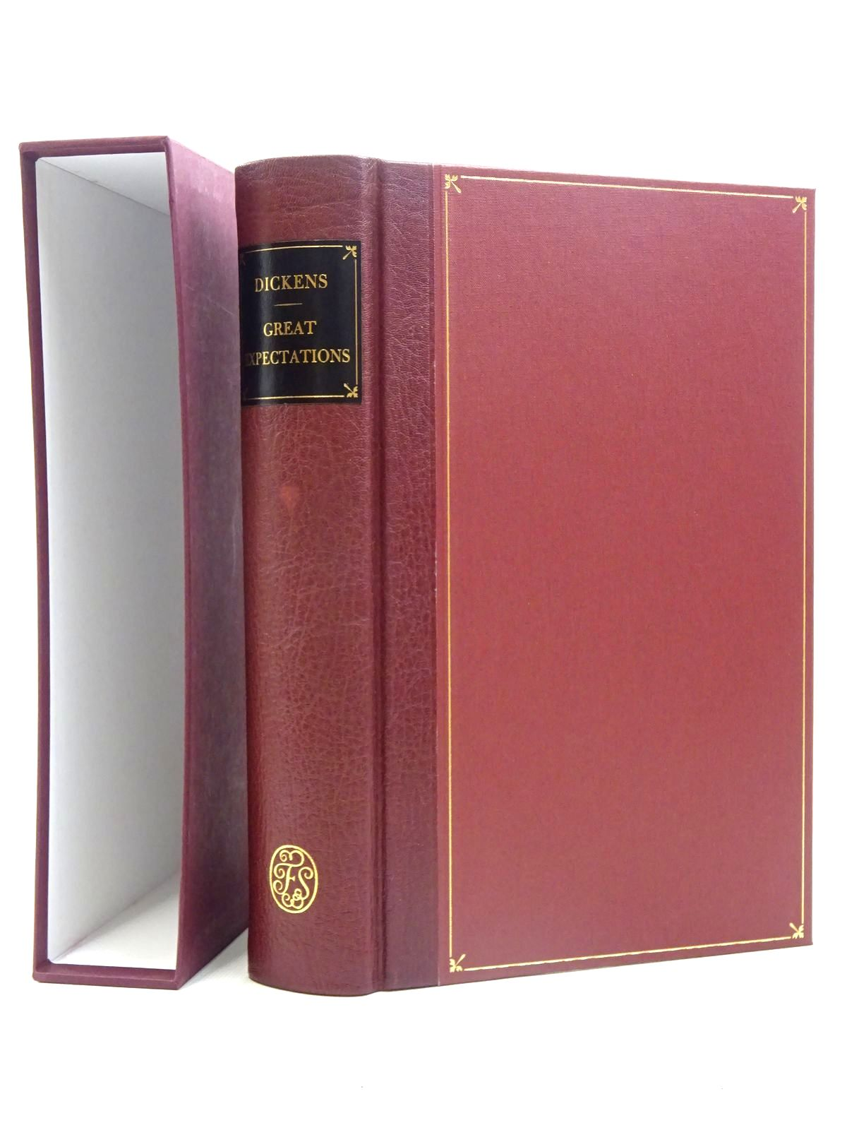 Photo of GREAT EXPECTATIONS written by Dickens, Charles illustrated by Stone, Marcus published by Folio Society (STOCK CODE: 2125771)  for sale by Stella & Rose's Books