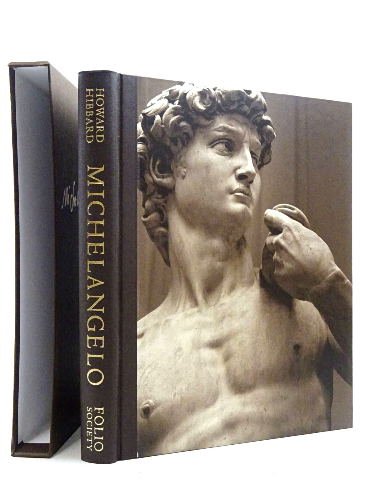 Photo of MICHELANGELO written by Hibbard, Howard<br />Levey, Michael illustrated by Michelangelo,  published by Folio Society (STOCK CODE: 2125779)  for sale by Stella & Rose's Books