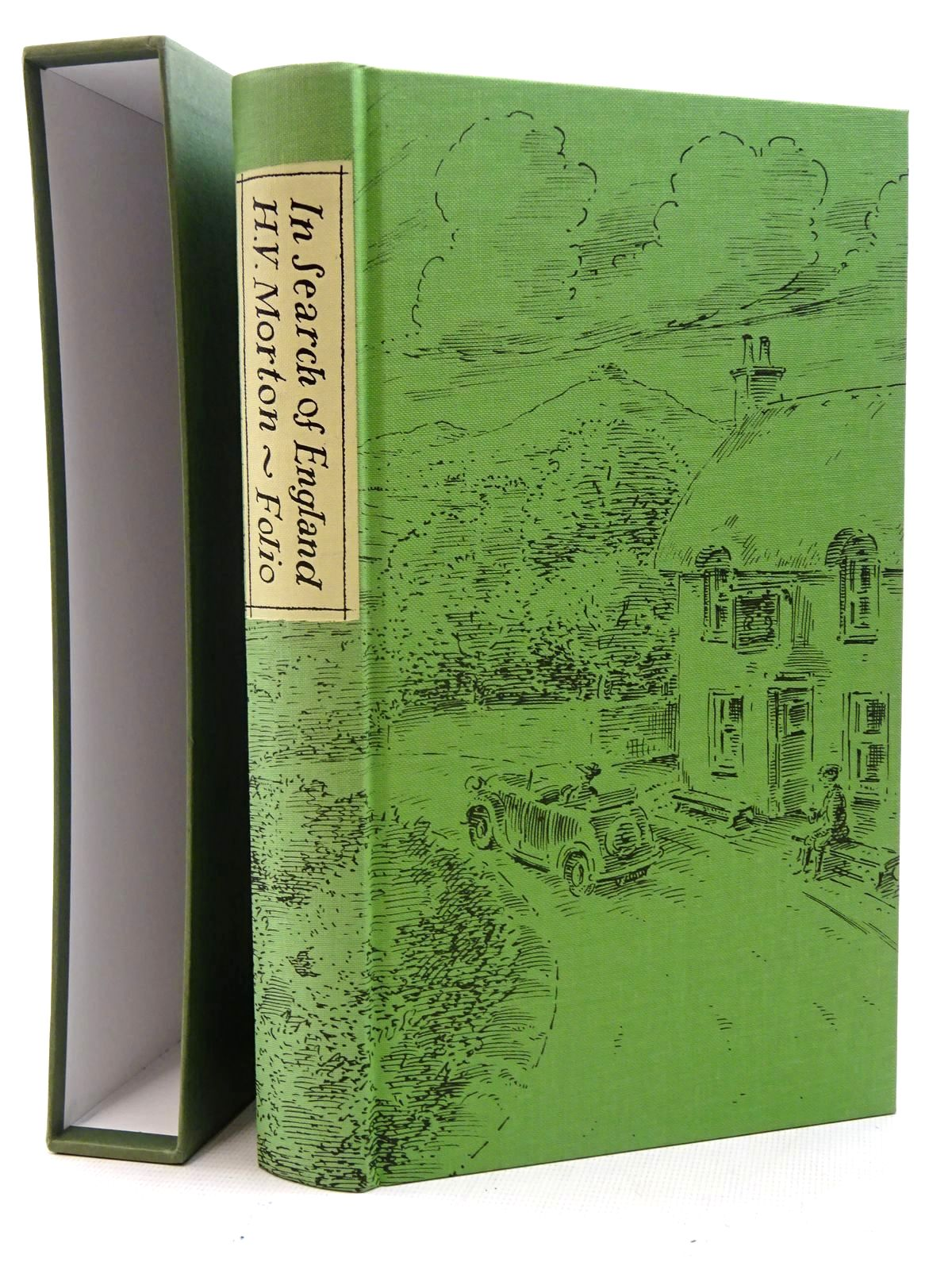 Photo of IN SEARCH OF ENGLAND written by Morton, H.V. illustrated by Bailey, Peter published by Folio Society (STOCK CODE: 2125794)  for sale by Stella & Rose's Books