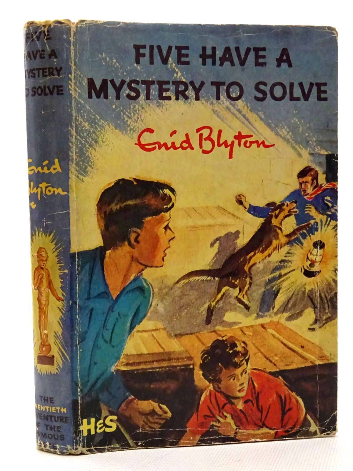 Photo of FIVE HAVE A MYSTERY TO SOLVE written by Blyton, Enid illustrated by Soper, Eileen published by Hodder & Stoughton (STOCK CODE: 2125849)  for sale by Stella & Rose's Books