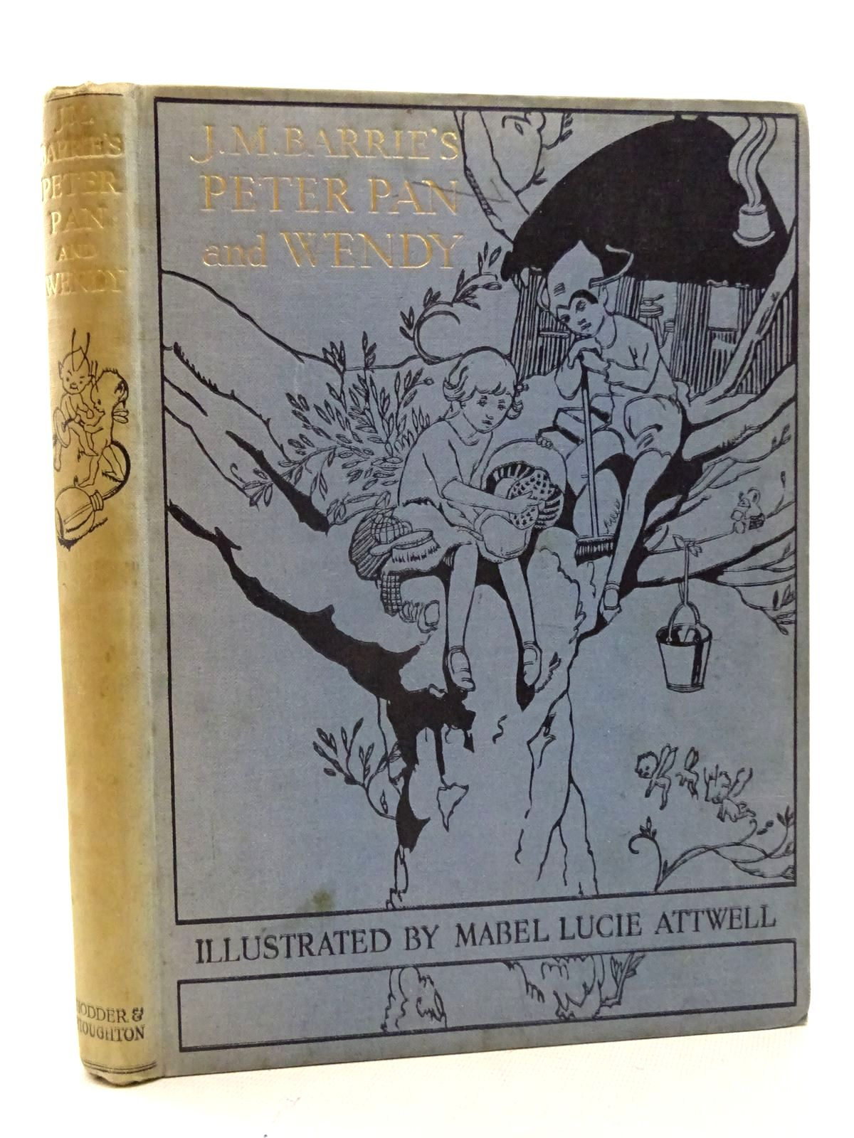 Photo of PETER PAN AND WENDY written by Barrie, J.M.<br />Byron, May illustrated by Attwell, Mabel Lucie published by Hodder & Stoughton (STOCK CODE: 2125855)  for sale by Stella & Rose's Books