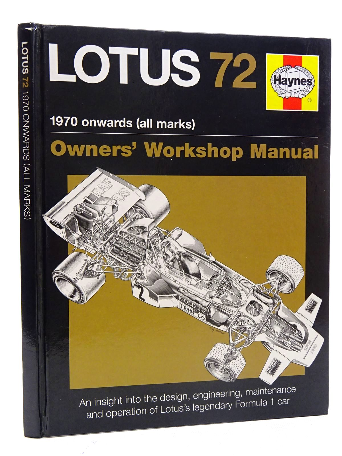 Photo of LOTUS 72 1970 ONWARDS (ALL MARKS) written by Wagstaff, Ian published by Haynes Publishing (STOCK CODE: 2125895)  for sale by Stella & Rose's Books