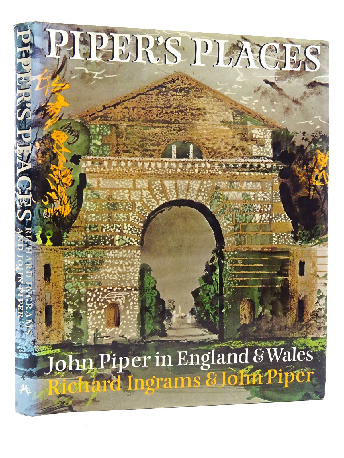 Photo of PIPER'S PLACES written by Ingrams, Richard<br />Piper, John illustrated by Piper, John published by Chatto & Windus, The Hogarth Press (STOCK CODE: 2125897)  for sale by Stella & Rose's Books