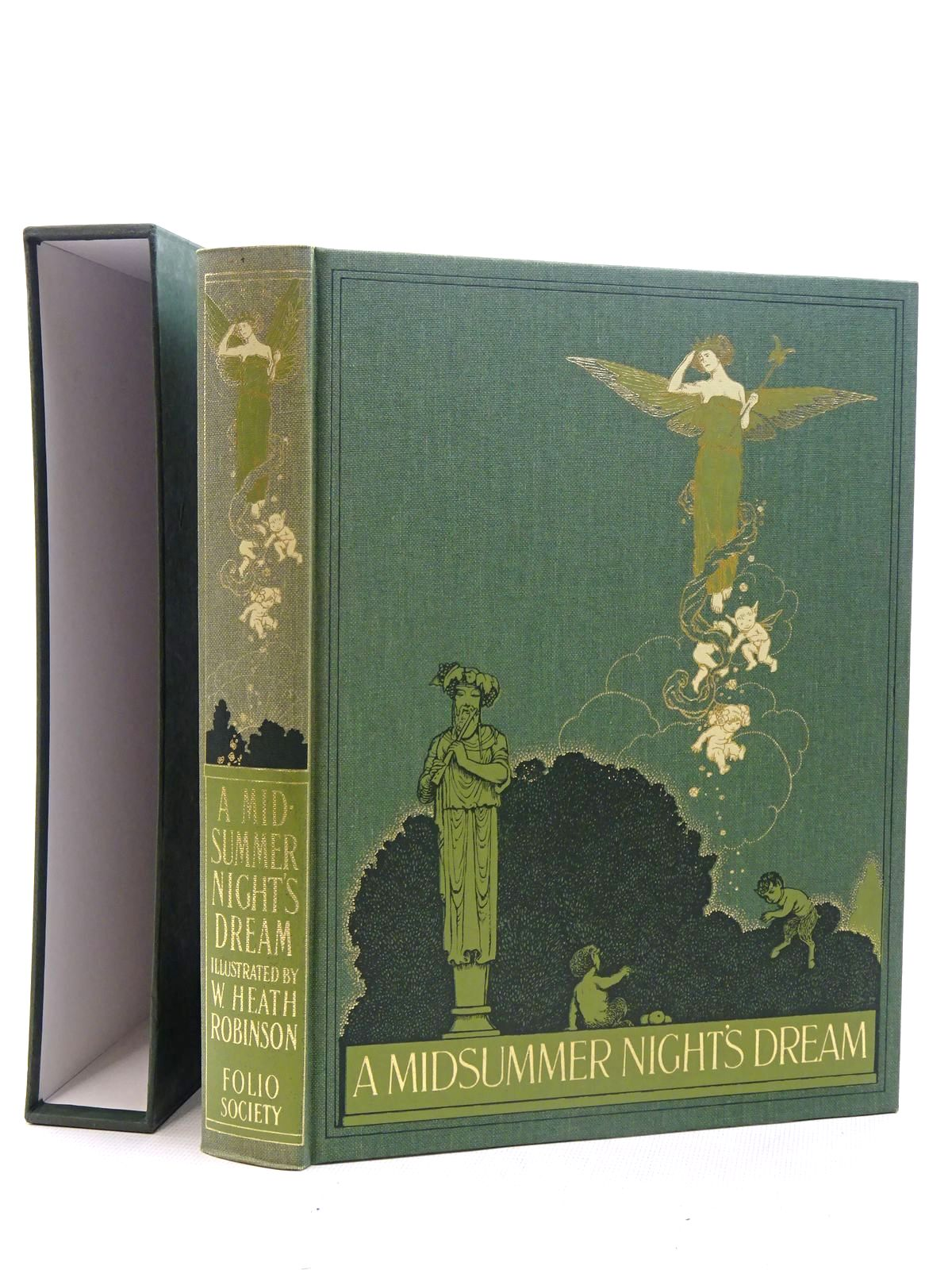 Photo of A MIDSUMMER NIGHT'S DREAM written by Shakespeare, William illustrated by Robinson, W. Heath published by Folio Society (STOCK CODE: 2125990)  for sale by Stella & Rose's Books