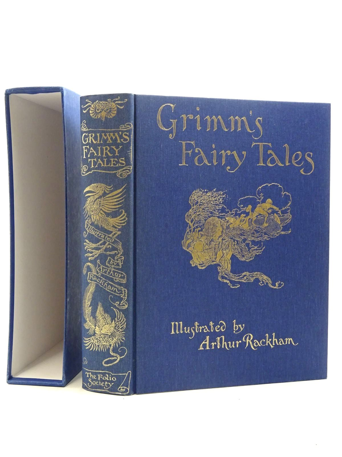 Photo of THE FAIRY TALES OF THE BROTHERS GRIMM written by Grimm, Brothers illustrated by Rackham, Arthur published by Folio Society (STOCK CODE: 2125991)  for sale by Stella & Rose's Books