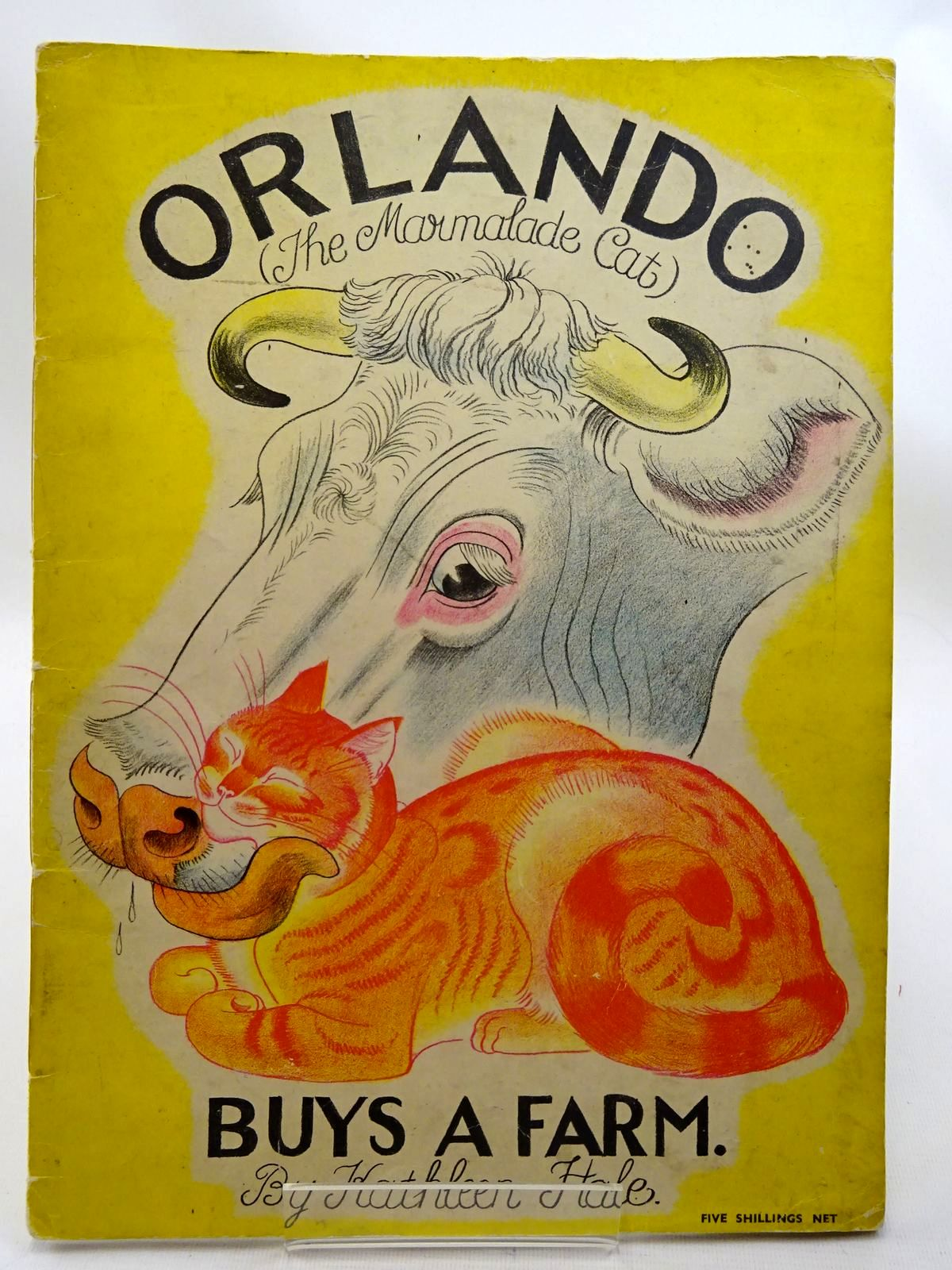 Photo of ORLANDO (THE MARMALADE CAT) BUYS A FARM written by Hale, Kathleen illustrated by Hale, Kathleen published by Country Life (STOCK CODE: 2126004)  for sale by Stella & Rose's Books