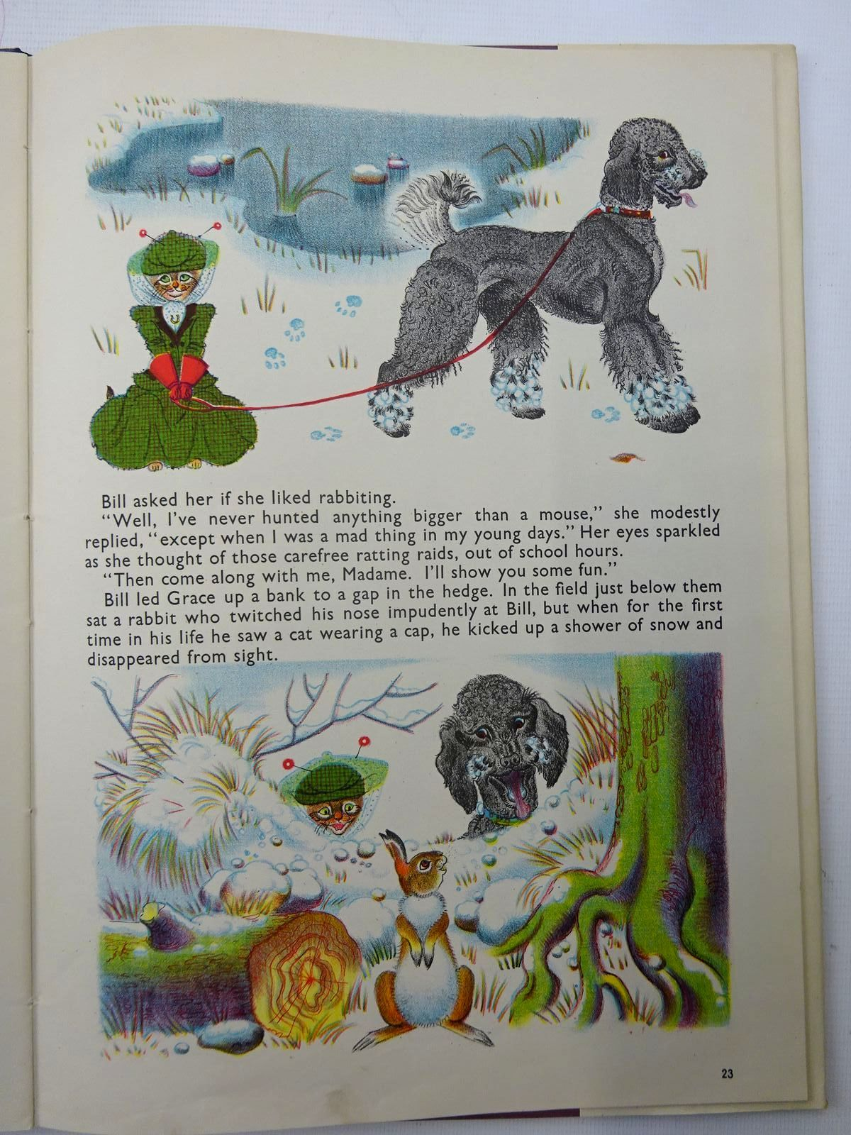 Photo of ORLANDO (THE MARMALADE CAT) KEEPS A DOG written by Hale, Kathleen illustrated by Hale, Kathleen published by Country Life (STOCK CODE: 2126005)  for sale by Stella & Rose's Books