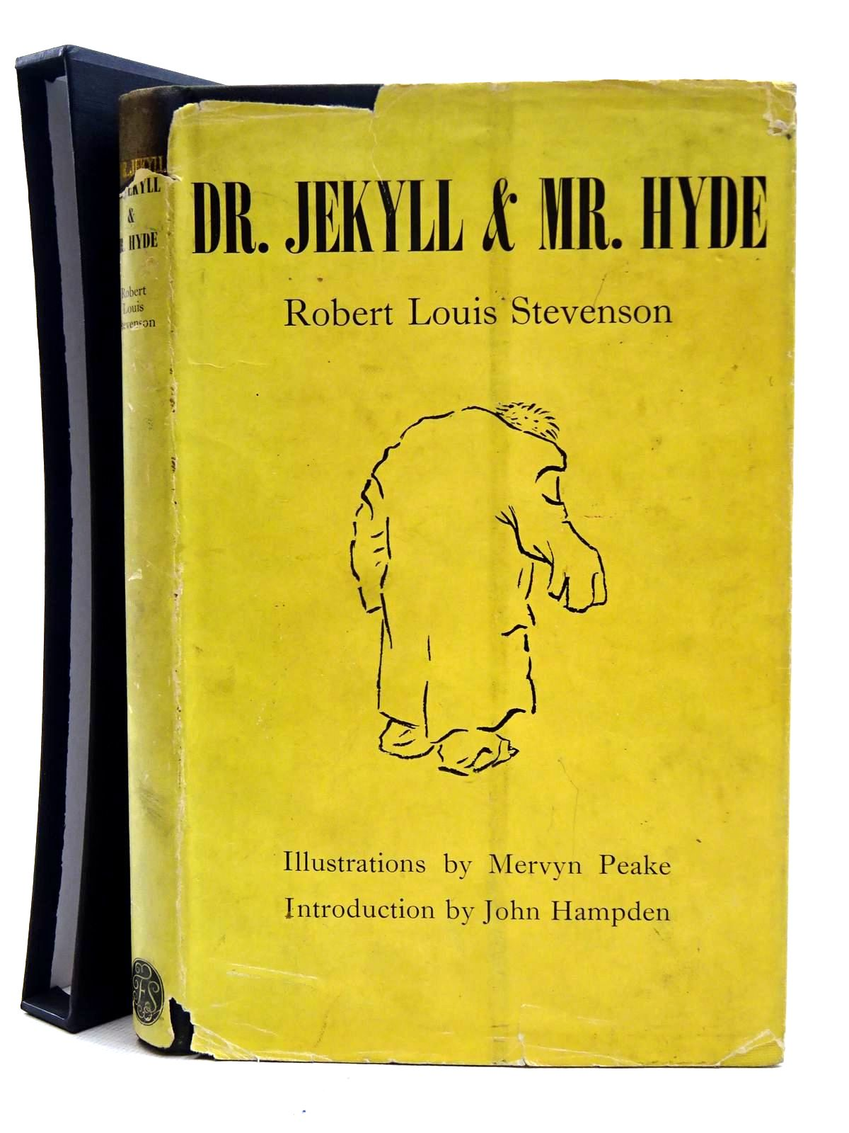 Photo of THE STRANGE CASE OF DR. JEKYLL &AMP; MR. HYDE written by Stevenson, Robert Louis<br />Hampden, John illustrated by Peake, Mervyn published by Folio Society (STOCK CODE: 2126014)  for sale by Stella & Rose's Books