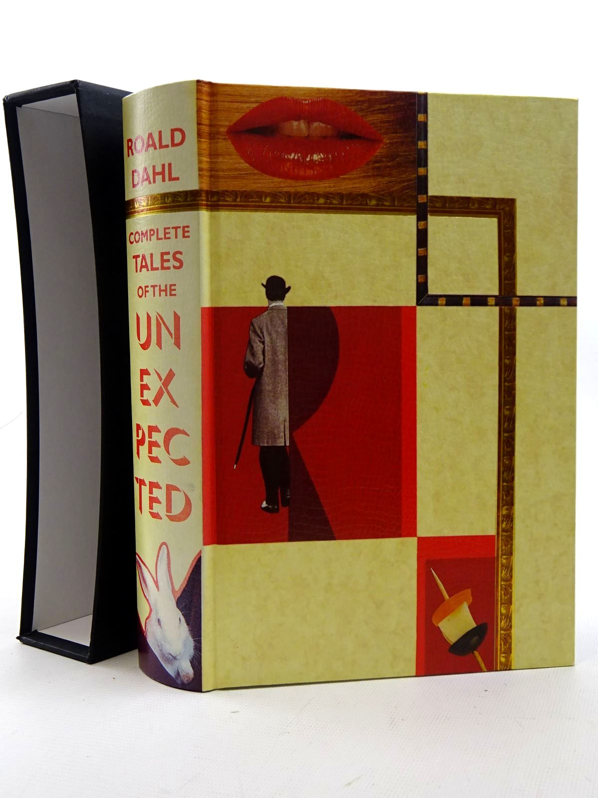 Photo of THE COMPLETE TALES OF THE UNEXPECTED AND OTHER STORIES written by Dahl, Roald illustrated by Smithson, Helen published by Folio Society (STOCK CODE: 2126017)  for sale by Stella & Rose's Books
