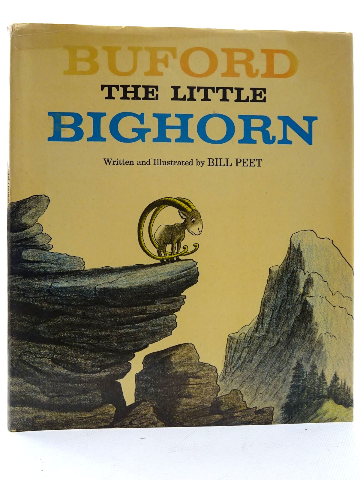 Photo of BUFORD THE LITTLE BIGHORN written by Peet, Bill illustrated by Peet, Bill published by Andre Deutsch (STOCK CODE: 2126024)  for sale by Stella & Rose's Books