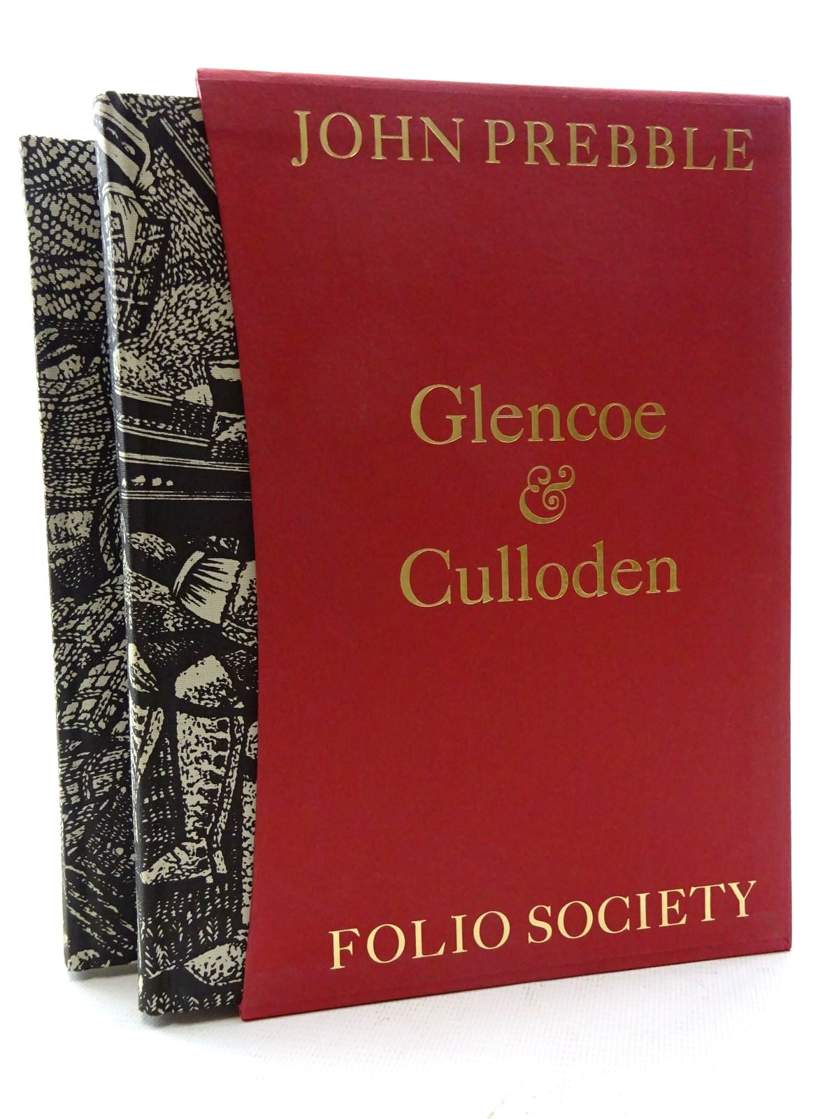 Photo of GLENCOE; CULLODEN written by Prebble, John illustrated by Brockway, Harry published by Folio Society (STOCK CODE: 2126038)  for sale by Stella & Rose's Books