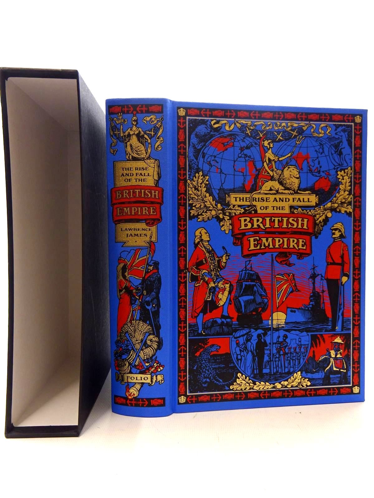 Photo of THE RISE AND FALL OF THE BRITISH EMPIRE written by James, Lawrence published by Folio Society (STOCK CODE: 2126040)  for sale by Stella & Rose's Books