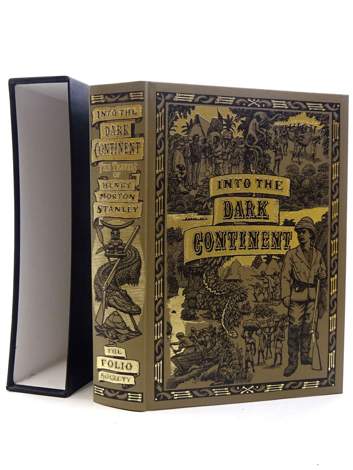 Photo of INTO THE DARK CONTINENT written by Stanley, Henry Morton<br />McLynn, Frank published by Folio Society (STOCK CODE: 2126043)  for sale by Stella & Rose's Books