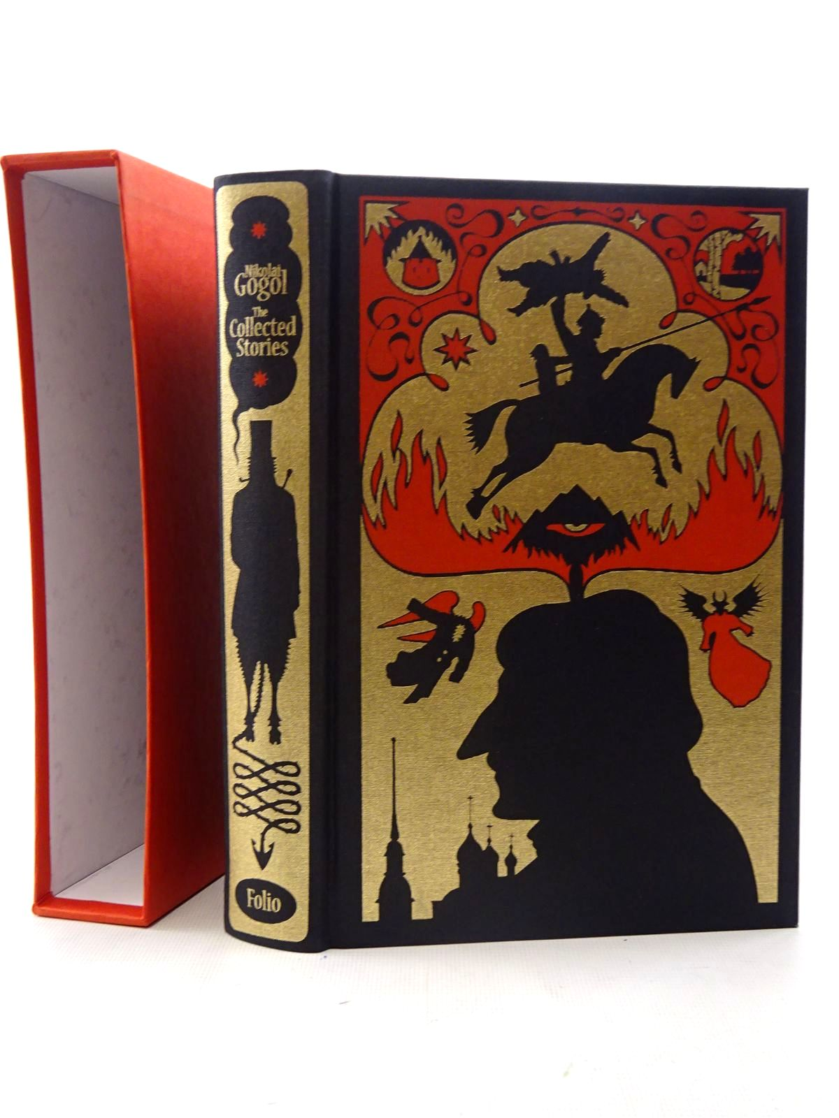 Photo of THE COLLECTED STORIES OF NIKOLAI GOGOL written by Gogol, Nikolai<br />Garnett, Constance<br />Hensher, Philip illustrated by Suart, Peter published by Folio Society (STOCK CODE: 2126049)  for sale by Stella & Rose's Books