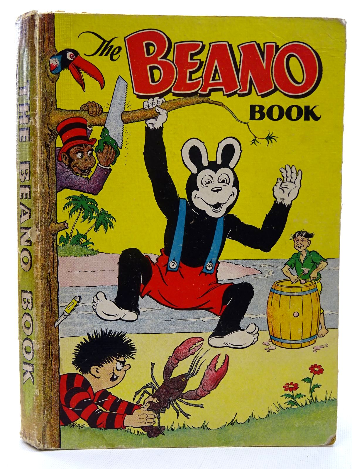Photo of THE BEANO BOOK 1954 published by D.C. Thomson & Co Ltd. (STOCK CODE: 2126054)  for sale by Stella & Rose's Books