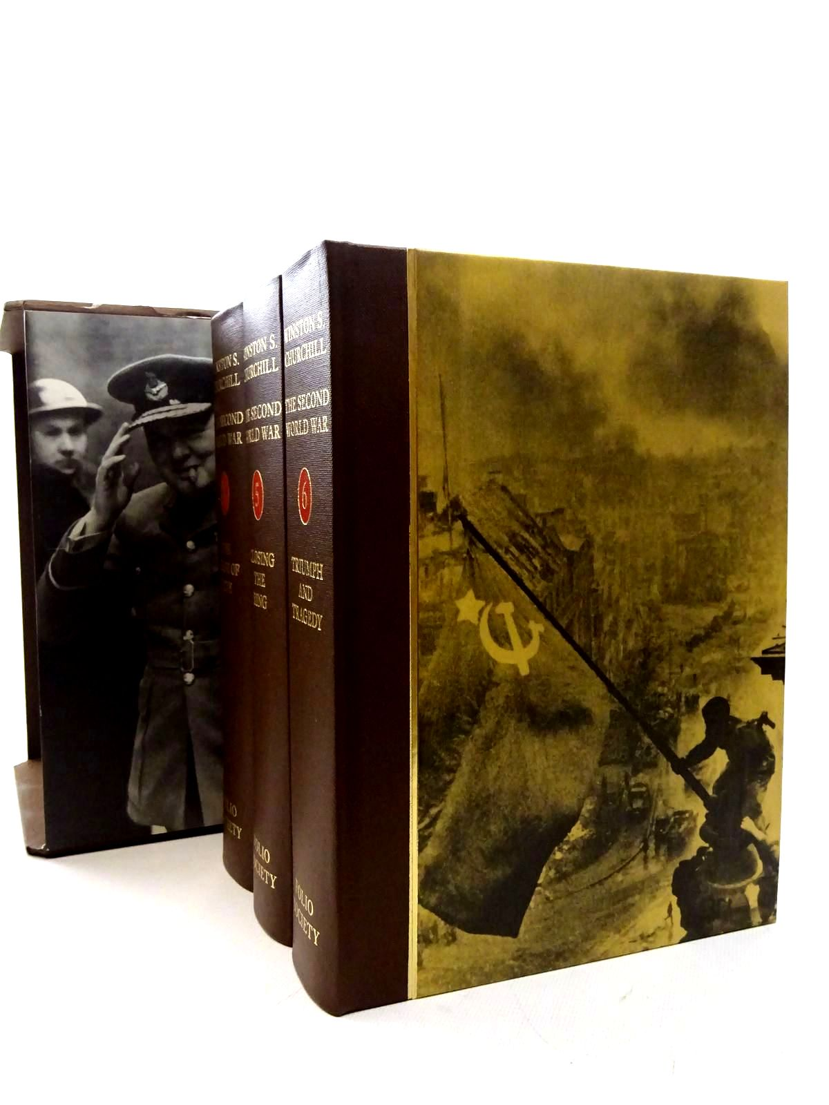 Photo of THE SECOND WORLD WAR (6 VOLUMES) written by Churchill, Winston S. published by Folio Society (STOCK CODE: 2126059)  for sale by Stella & Rose's Books