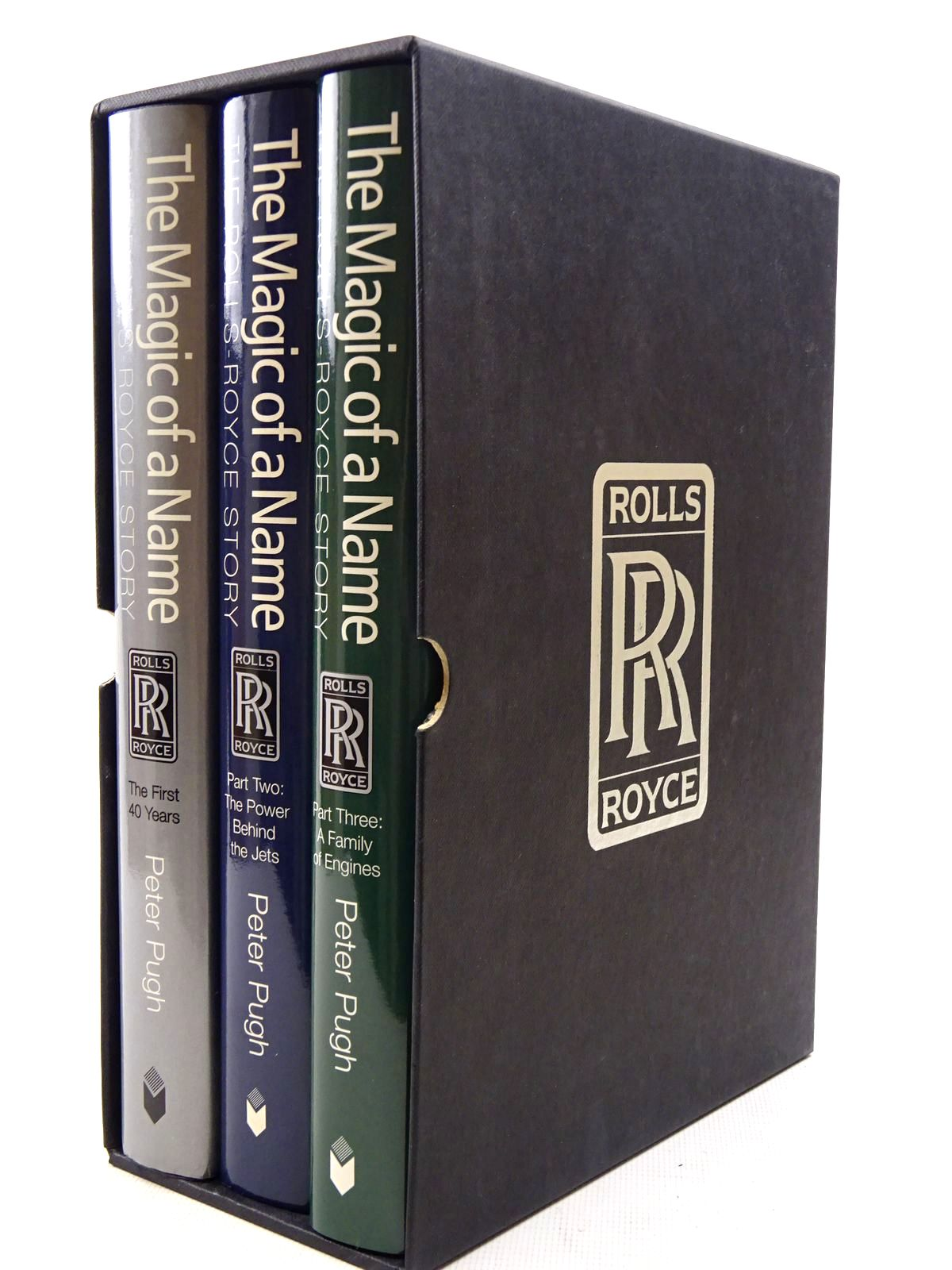 Photo of THE MAGIC OF A NAME: THE ROLLS-ROYCE STORY 3 VOLUMES written by Pugh, Peter published by Icon Books (STOCK CODE: 2126072)  for sale by Stella & Rose's Books