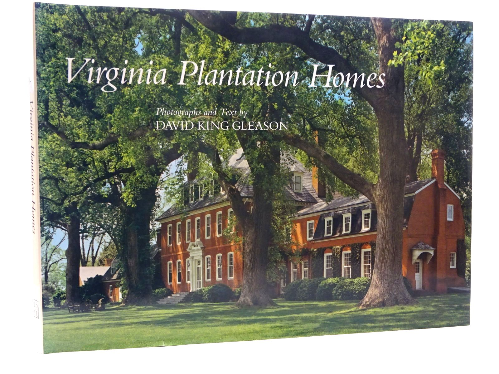Photo of VIRGINIA PLANTATION HOMES written by Gleason, David King published by Louisiana State University Press (STOCK CODE: 2126073)  for sale by Stella & Rose's Books