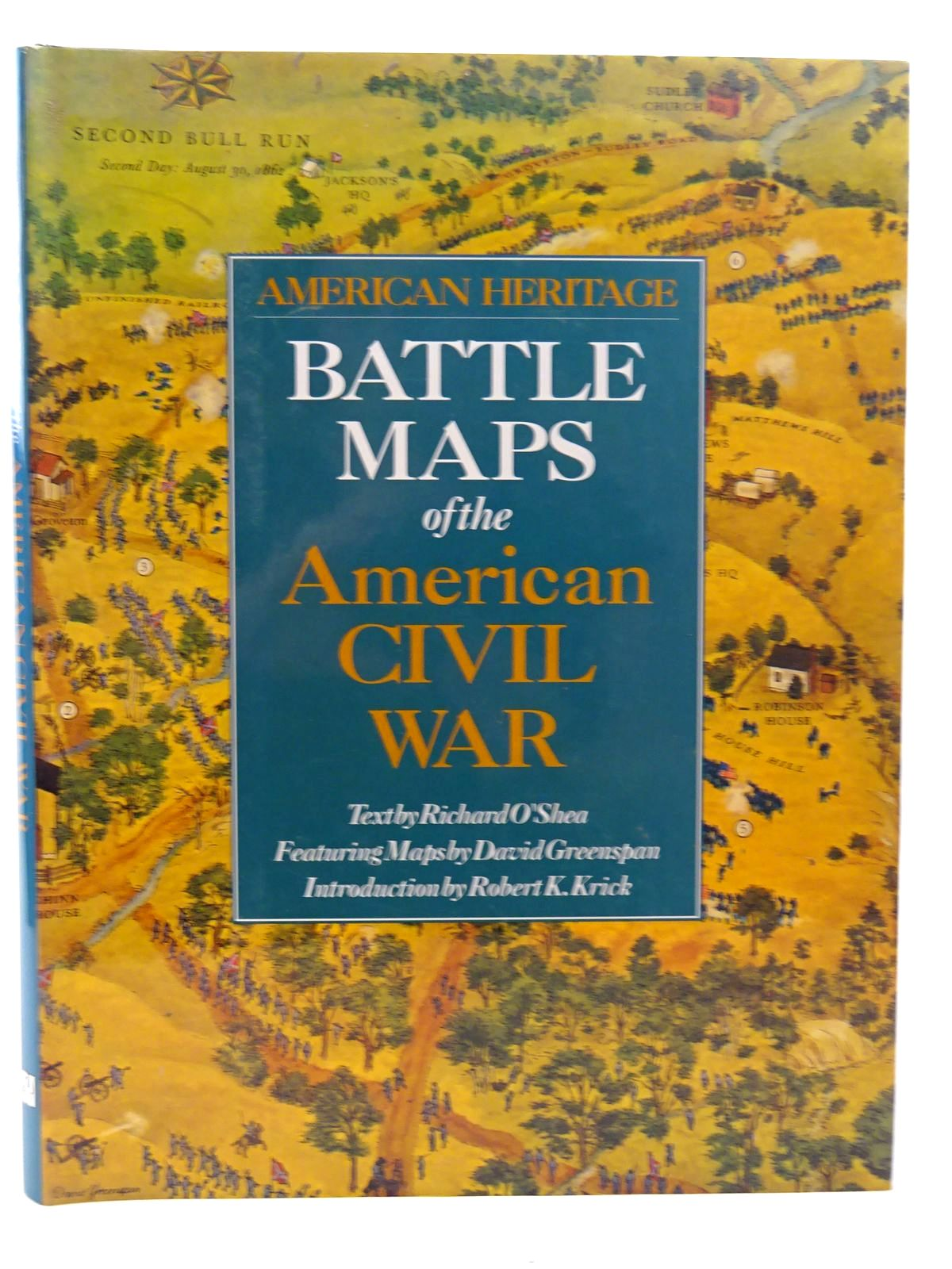 Photo of BATTLE MAPS OF THE AMERICAN CIVIL WAR written by O'Shea, Richard illustrated by Greenspan, David published by Alan Sutton (STOCK CODE: 2126081)  for sale by Stella & Rose's Books