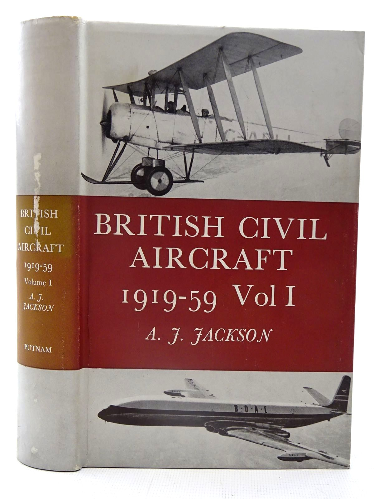Photo of BRITISH CIVIL AIRCRAFT SINCE 1919-59 VOLUME ONE written by Jackson, A.J. published by Putnam (STOCK CODE: 2126110)  for sale by Stella & Rose's Books