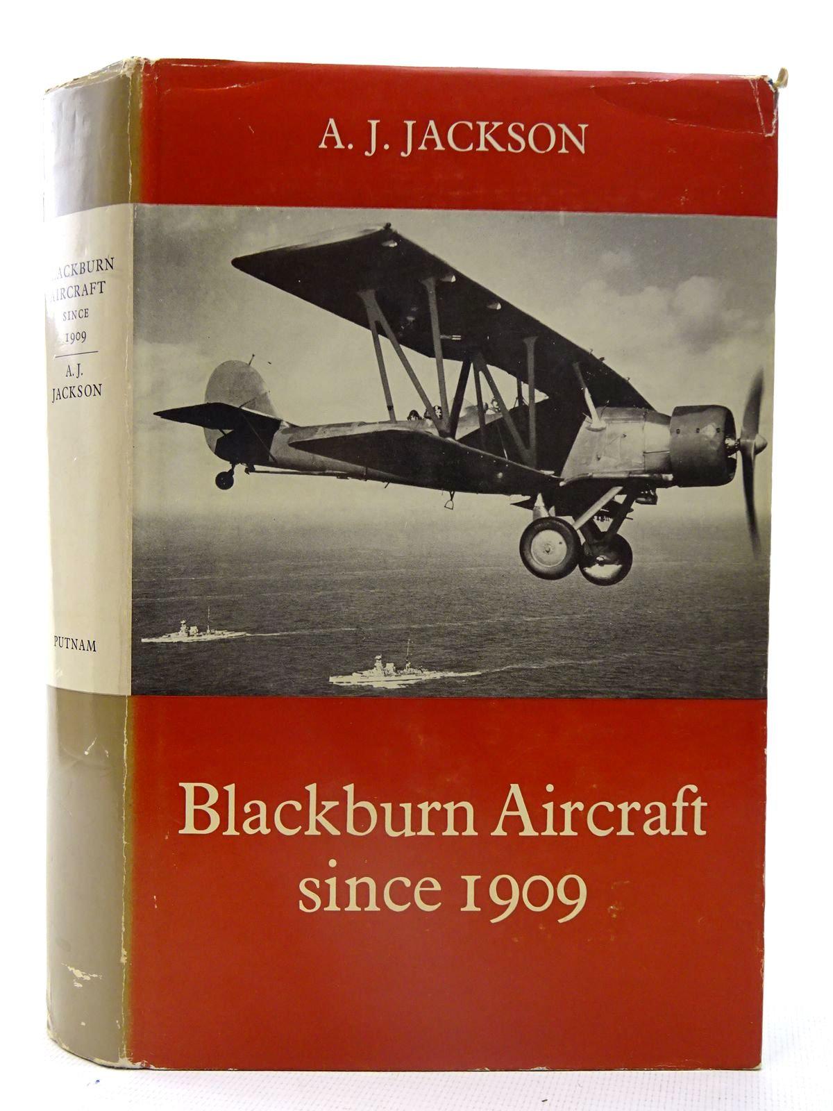 Photo of BLACKBURN AIRCRAFT SINCE 1909 written by Jackson, A.J. published by Putnam (STOCK CODE: 2126113)  for sale by Stella & Rose's Books