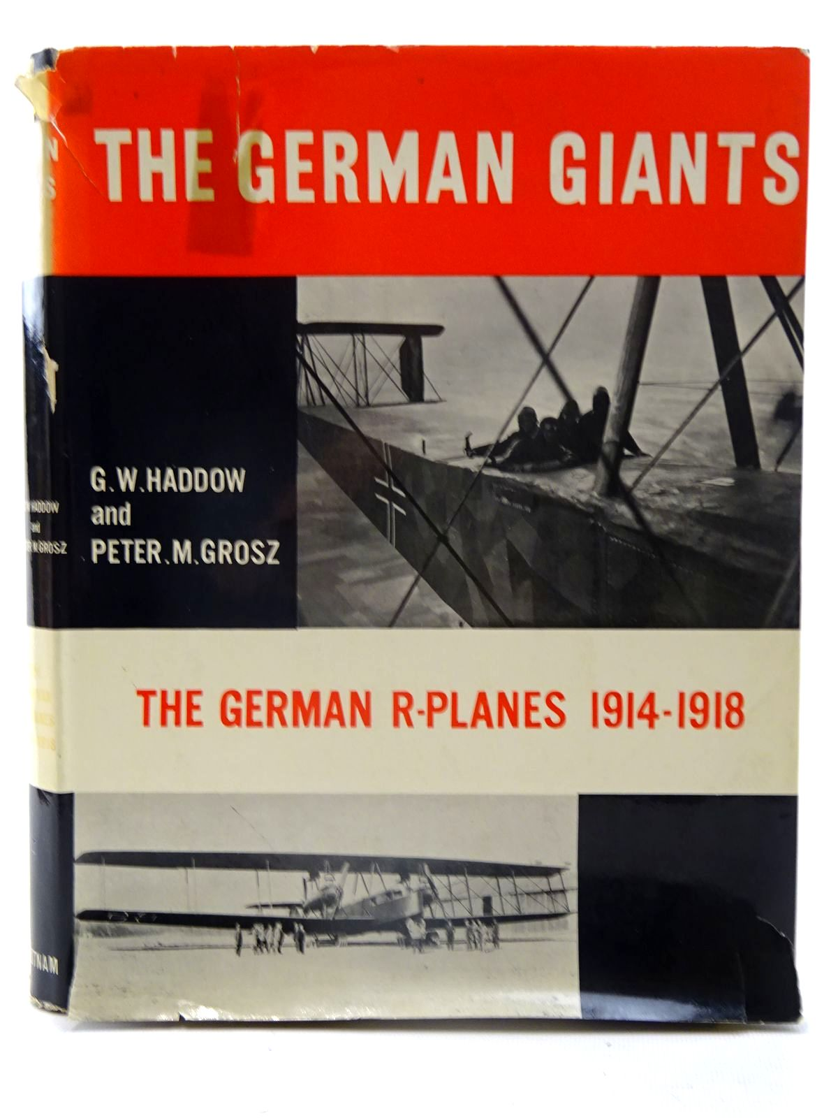 Photo of THE GERMAN GIANTS written by Haddow, G.W.<br />Grosz, Peter M. published by Putnam (STOCK CODE: 2126115)  for sale by Stella & Rose's Books