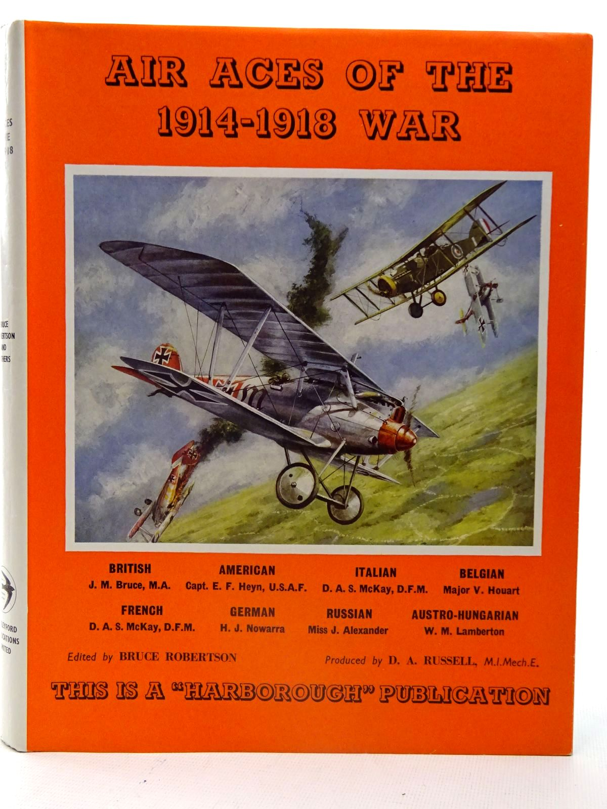 Photo of AIR ACES OF THE 1914-1918 WAR written by Robertson, Bruce published by Harleyford Publications Limited (STOCK CODE: 2126117)  for sale by Stella & Rose's Books