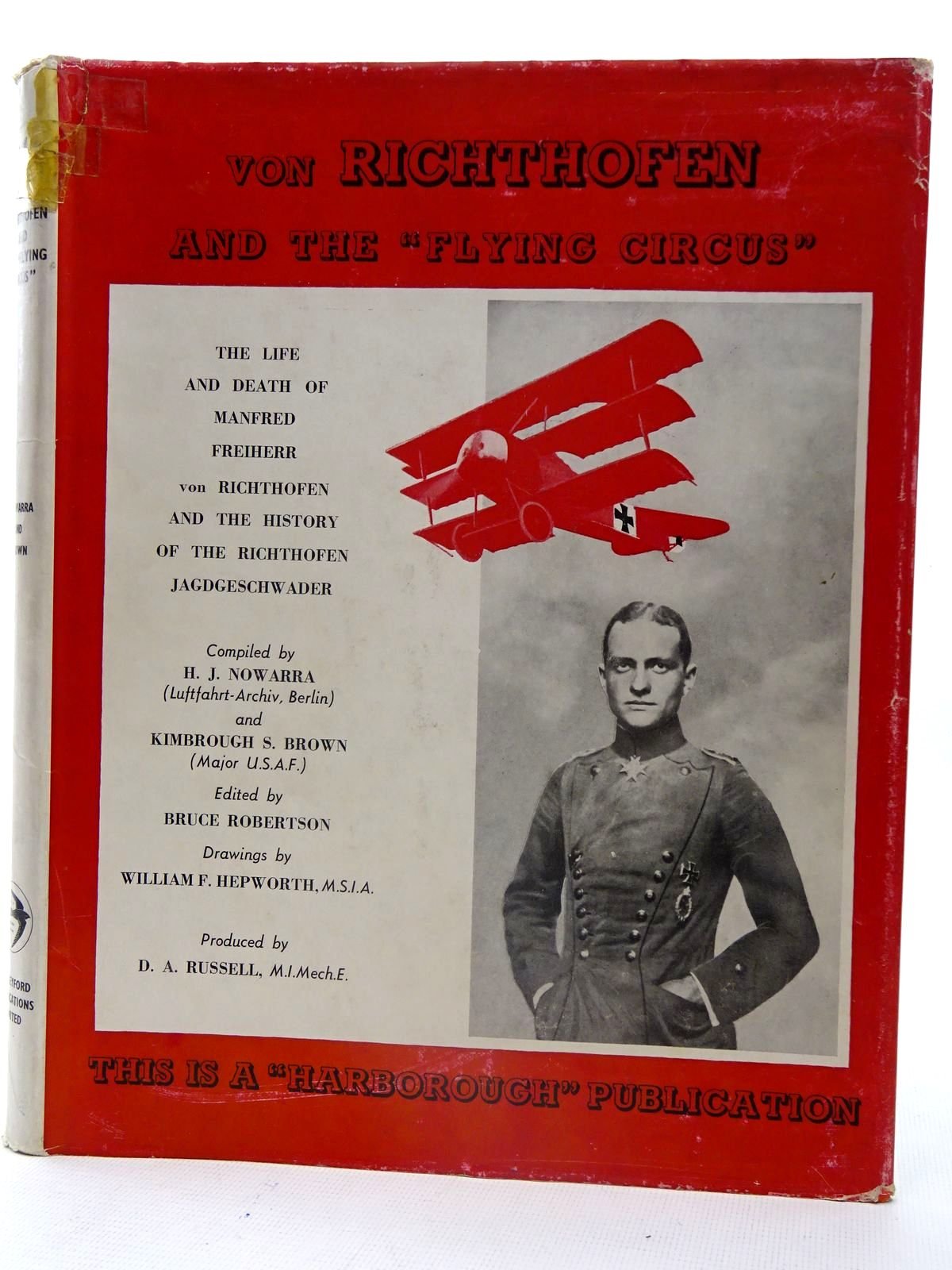 Photo of VON RICHTHOFEN AND THE FLYING CIRCUS written by Nowarra, Heinz J.<br />Brown, Kimbrough S. published by Harleyford Publications Limited (STOCK CODE: 2126118)  for sale by Stella & Rose's Books