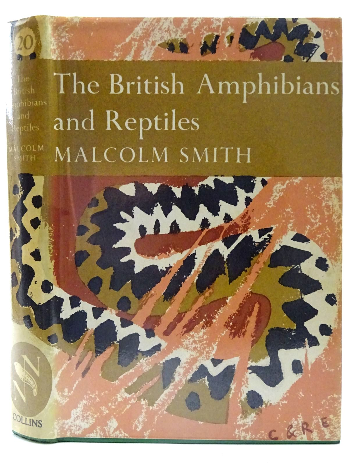 Photo of THE BRITISH AMPHIBIANS & REPTILES (NN 20) written by Smith, Malcolm published by Collins (STOCK CODE: 2126145)  for sale by Stella & Rose's Books