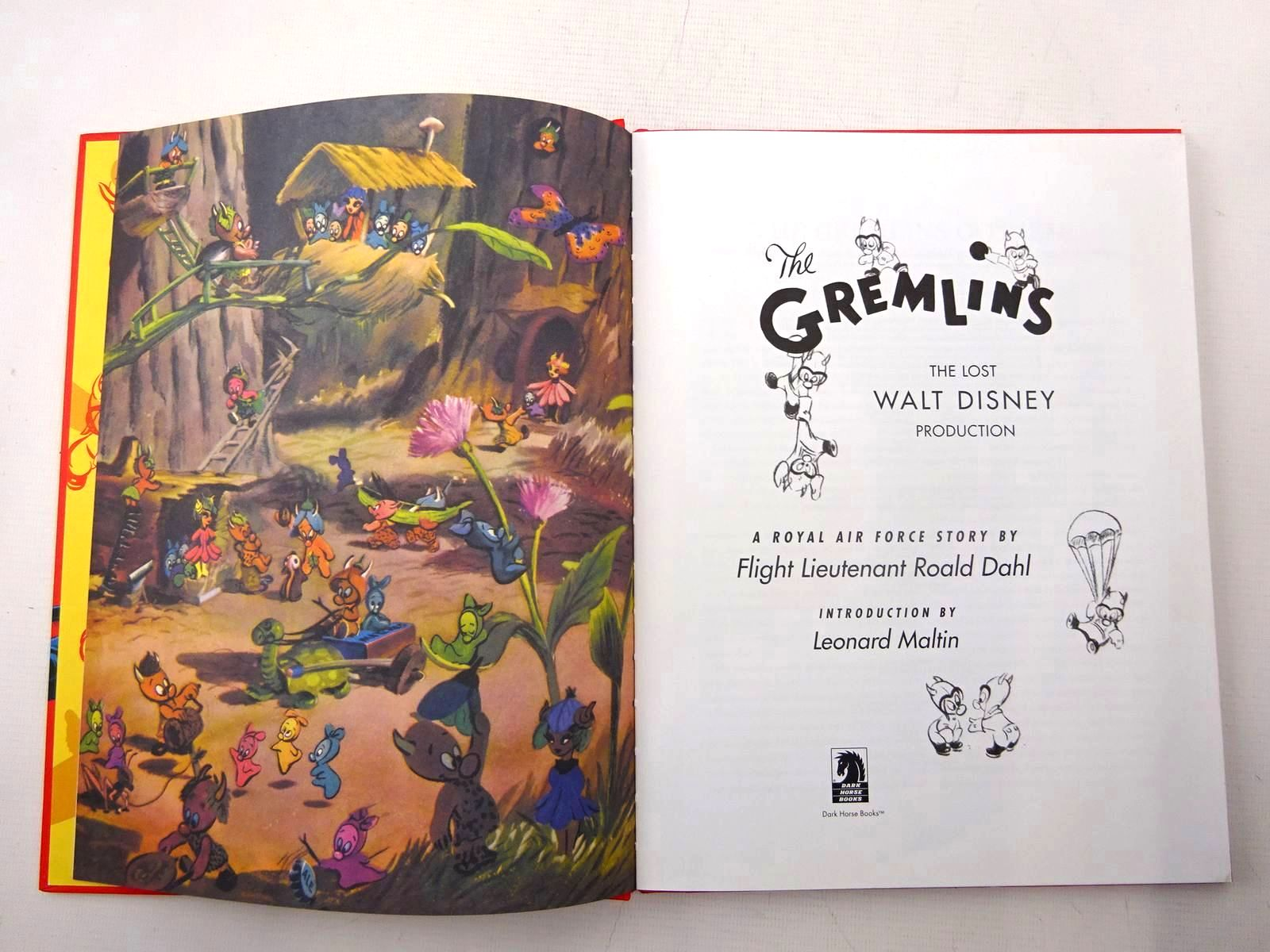 Photo of THE GREMLINS written by Dahl, Roald<br />Maltin, Leonard illustrated by Disney, Walt published by Dark Horse Books (STOCK CODE: 2126222)  for sale by Stella & Rose's Books
