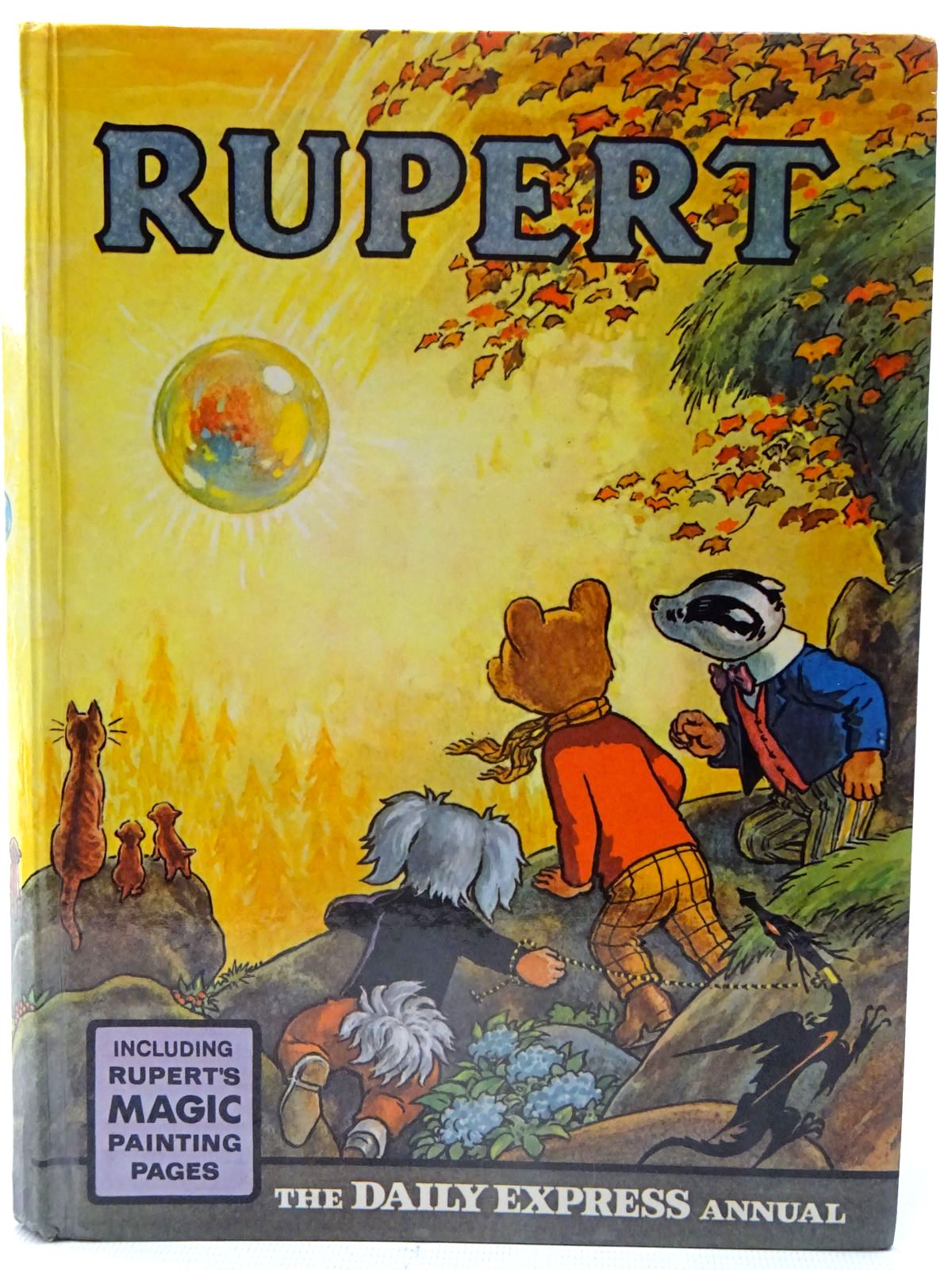 Photo of RUPERT ANNUAL 1968 written by Bestall, Alfred illustrated by Bestall, Alfred published by Daily Express (STOCK CODE: 2126226)  for sale by Stella & Rose's Books