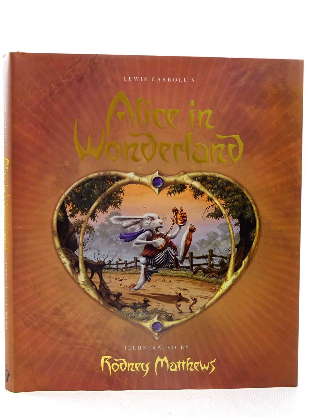 Photo of ALICE IN WONDERLAND written by Carroll, Lewis illustrated by Matthews, Rodney published by Templar Publishing (STOCK CODE: 2126231)  for sale by Stella & Rose's Books