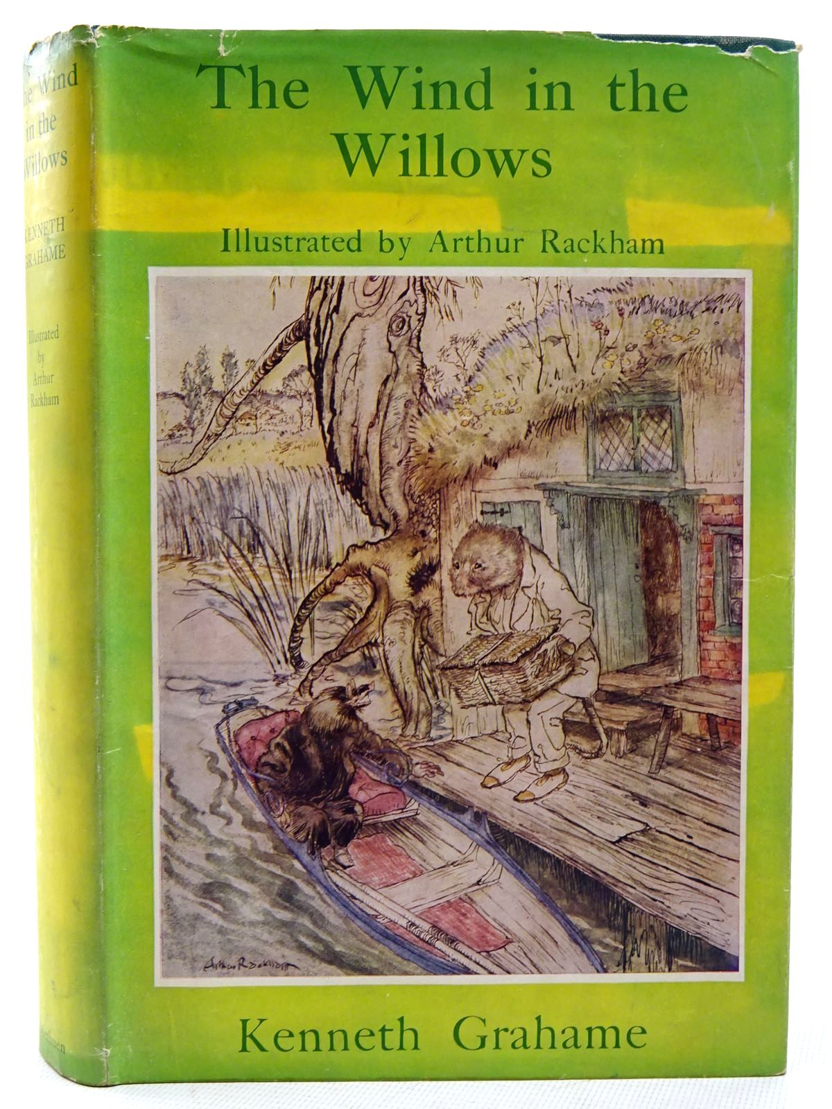 Photo of THE WIND IN THE WILLOWS written by Grahame, Kenneth illustrated by Rackham, Arthur published by Methuen & Co. Ltd. (STOCK CODE: 2126233)  for sale by Stella & Rose's Books