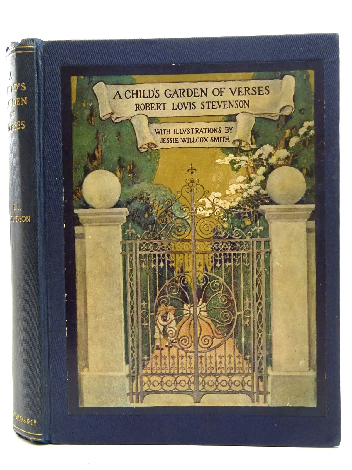 Photo of A CHILD'S GARDEN OF VERSES written by Stevenson, Robert Louis illustrated by Smith, Jessie Willcox published by Longmans, Green & Co. (STOCK CODE: 2126234)  for sale by Stella & Rose's Books