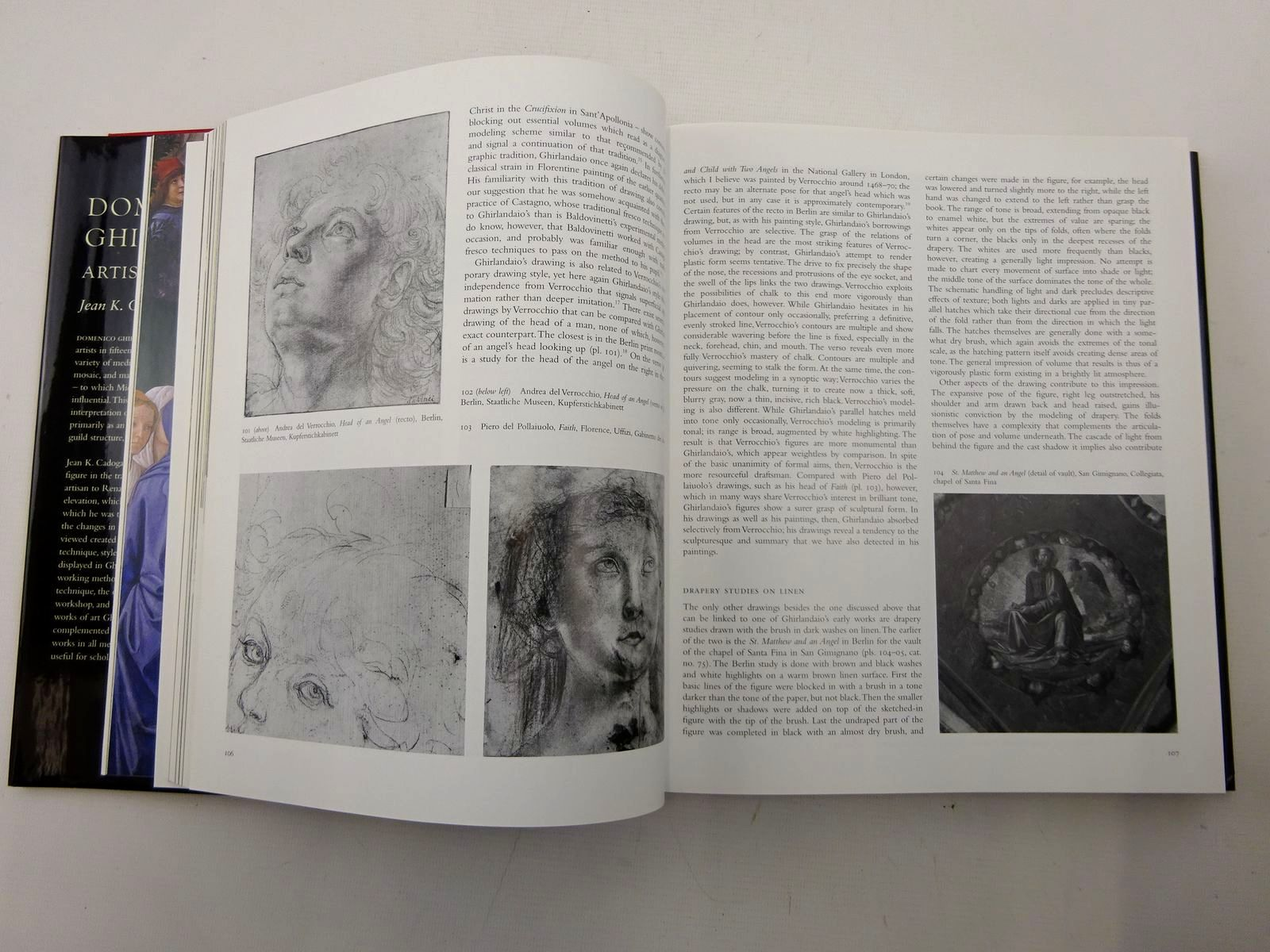 Photo of DOMENICO GHIRLANDAIO ARTIST AND ARTISAN written by Cadogan, Jean K. illustrated by Ghirlandaio, Domenico published by Yale University Press (STOCK CODE: 2126249)  for sale by Stella & Rose's Books