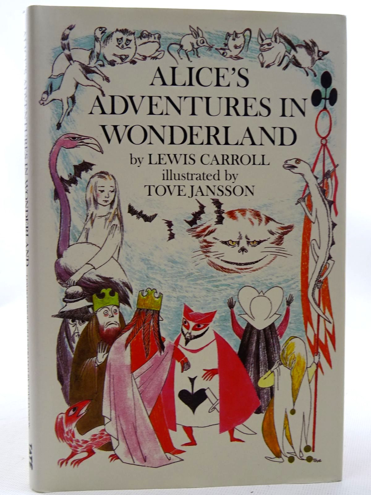 Photo of ALICE'S ADVENTURES IN WONDERLAND written by Carroll, Lewis illustrated by Jansson, Tove published by Tate Publishing (STOCK CODE: 2126253)  for sale by Stella & Rose's Books