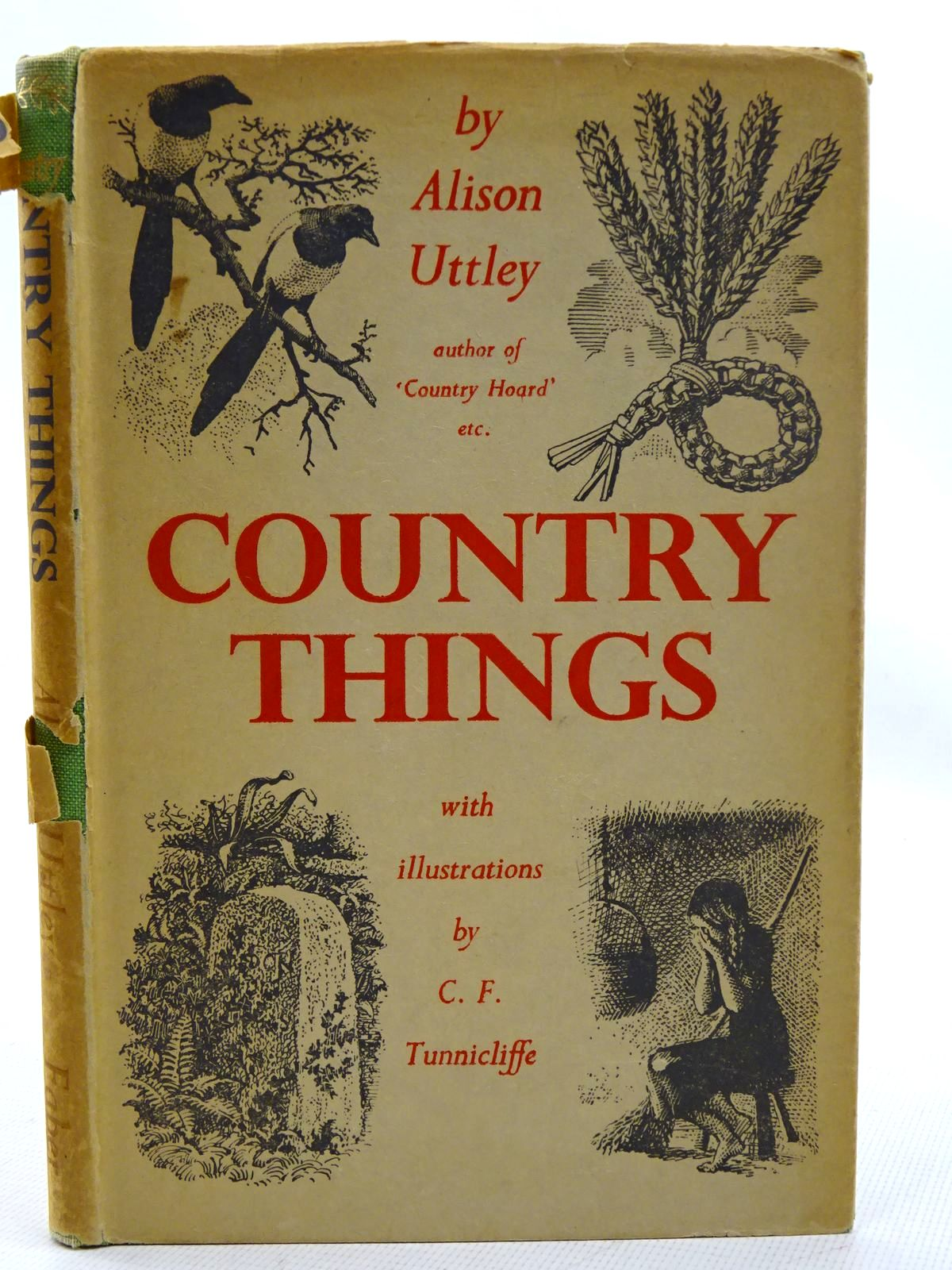 Photo of COUNTRY THINGS written by Uttley, Alison illustrated by Tunnicliffe, C.F. published by Faber & Faber (STOCK CODE: 2126263)  for sale by Stella & Rose's Books