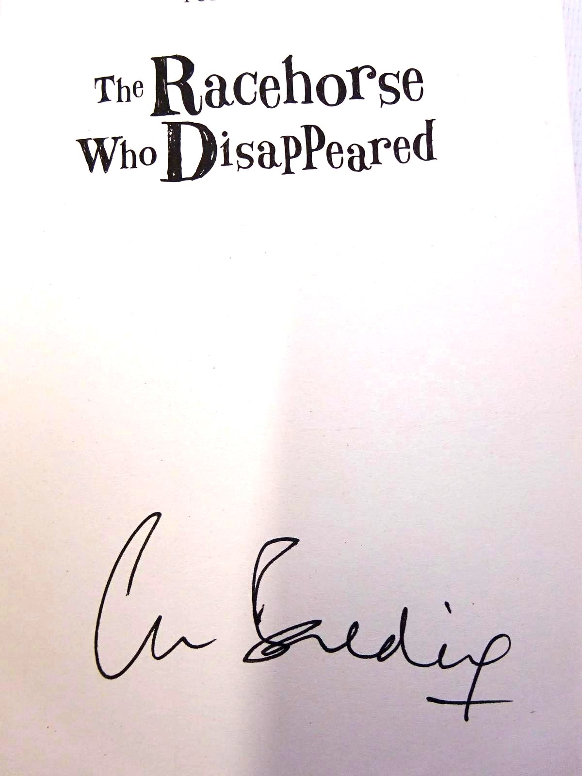 Photo of THE RACEHORSE WHO DISAPPEARED written by Balding, Clare illustrated by Ross, Tony published by Puffin Books (STOCK CODE: 2126308)  for sale by Stella & Rose's Books