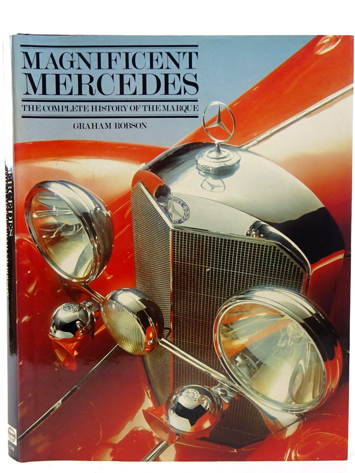 Photo of MAGNIFICENT MERCEDES written by Robson, Graham published by Haynes Publishing Group (STOCK CODE: 2126349)  for sale by Stella & Rose's Books