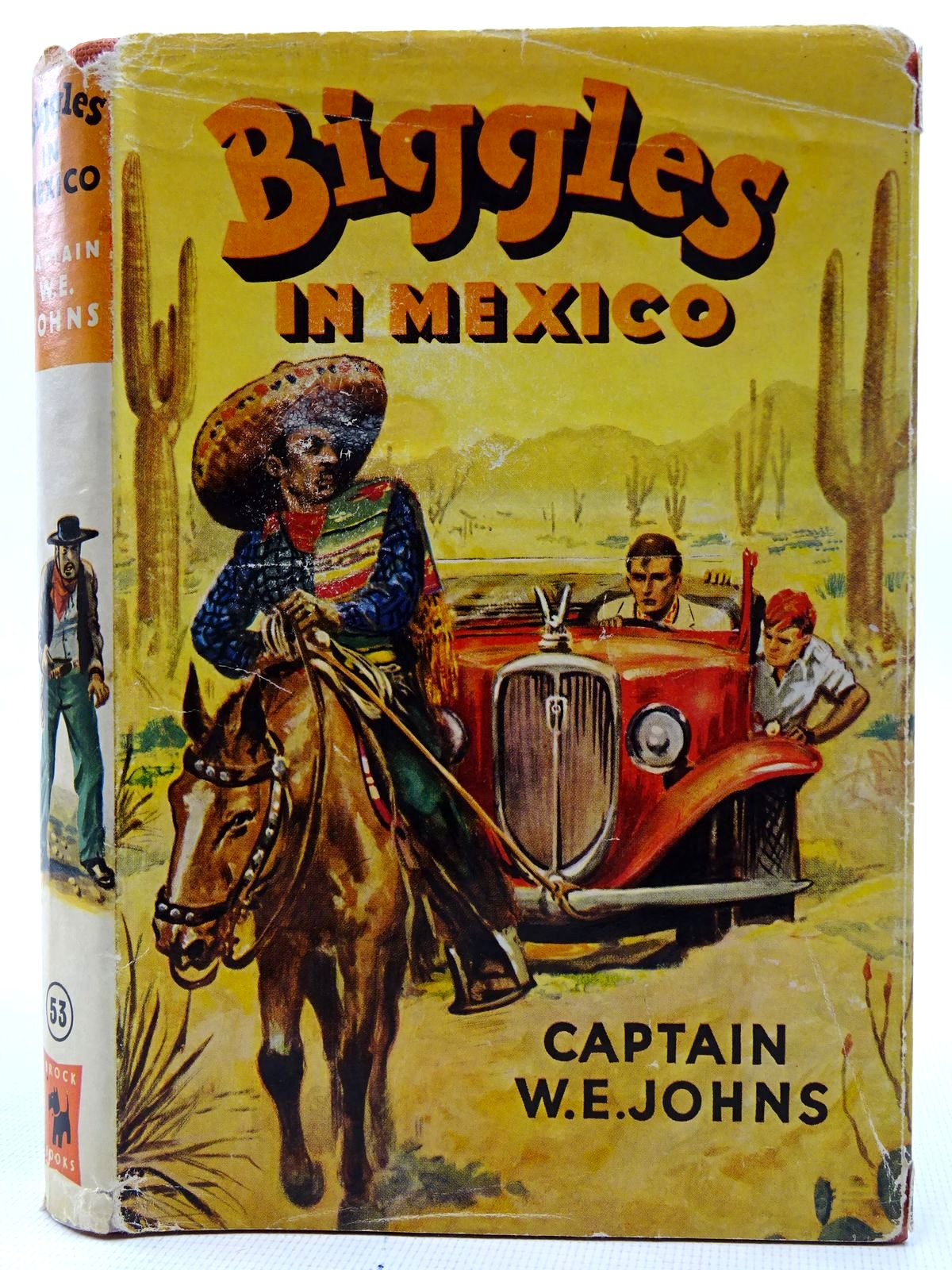 Photo of BIGGLES IN MEXICO written by Johns, W.E. illustrated by Stead, Leslie published by Brockhampton Press (STOCK CODE: 2126371)  for sale by Stella & Rose's Books
