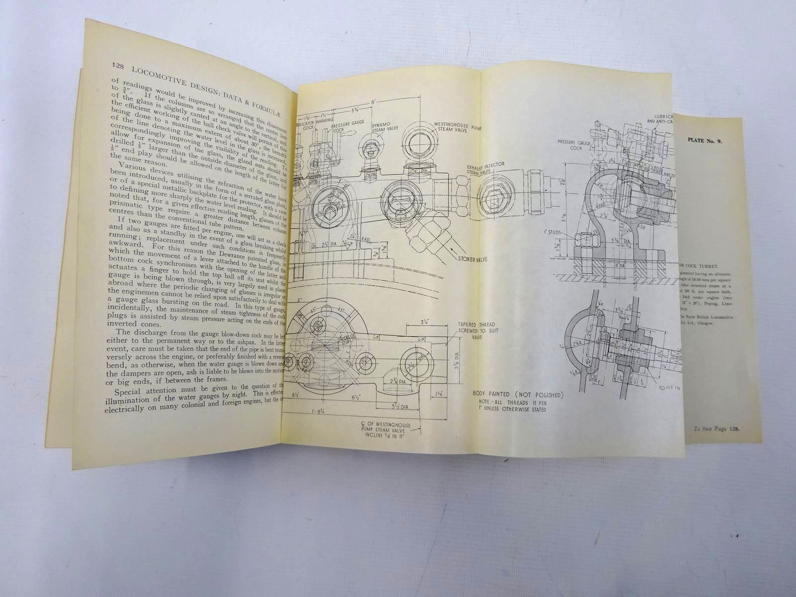 Photo of STEAM LOCOMOTIVE DEISIGN: DATA AND FORMULAE written by Phillipson, E.A. published by Locomotive Publishing Co. Ltd. (STOCK CODE: 2126383)  for sale by Stella & Rose's Books