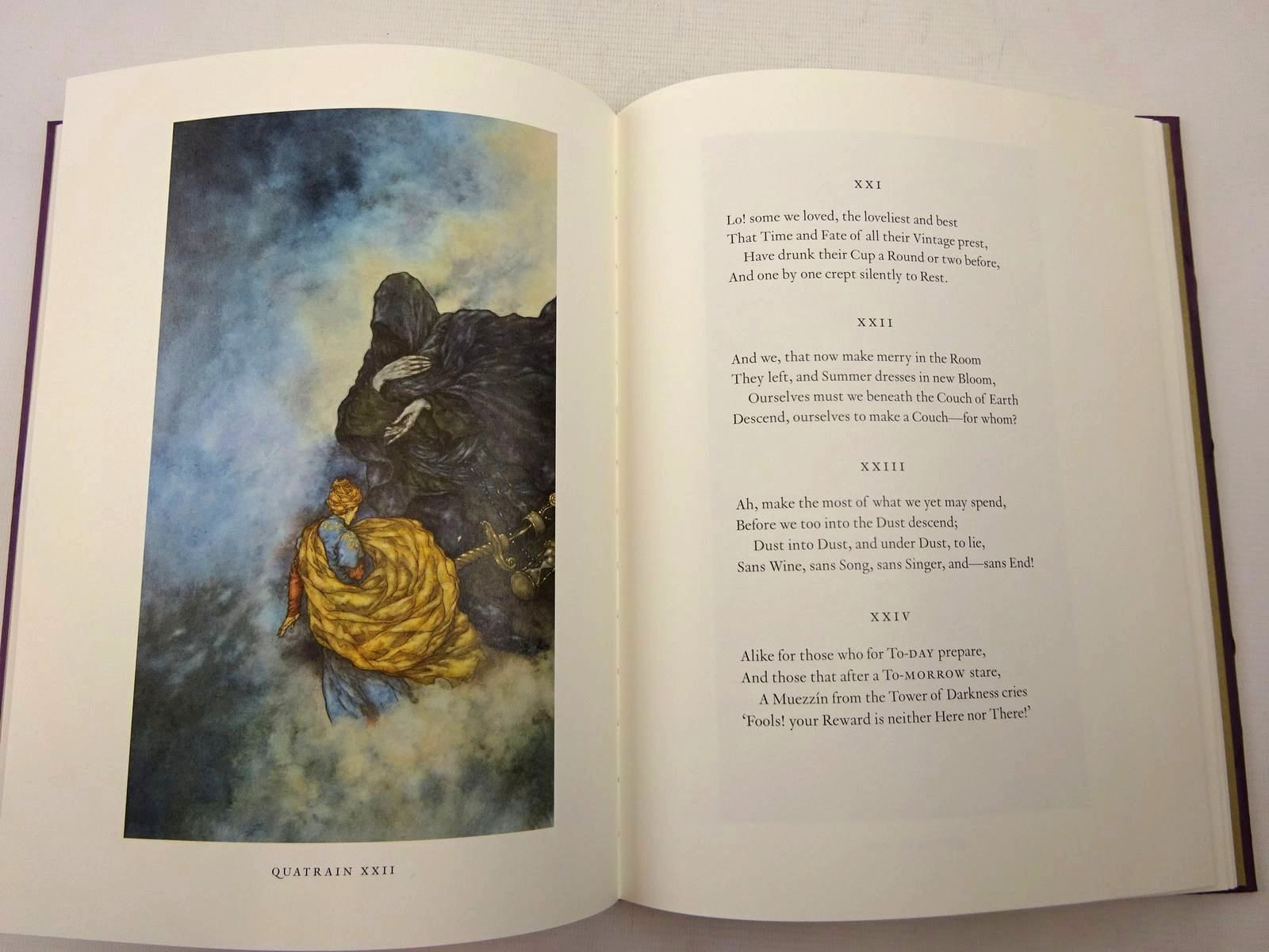 Photo of RUBAIYAT OF OMAR KHAYYAM written by Fitzgerald, Edward<br />Khayyam, Omar<br />Byatt, A.S. illustrated by Puttapipat, Niroot<br />Raw, Stephen published by Folio Society (STOCK CODE: 2126386)  for sale by Stella & Rose's Books