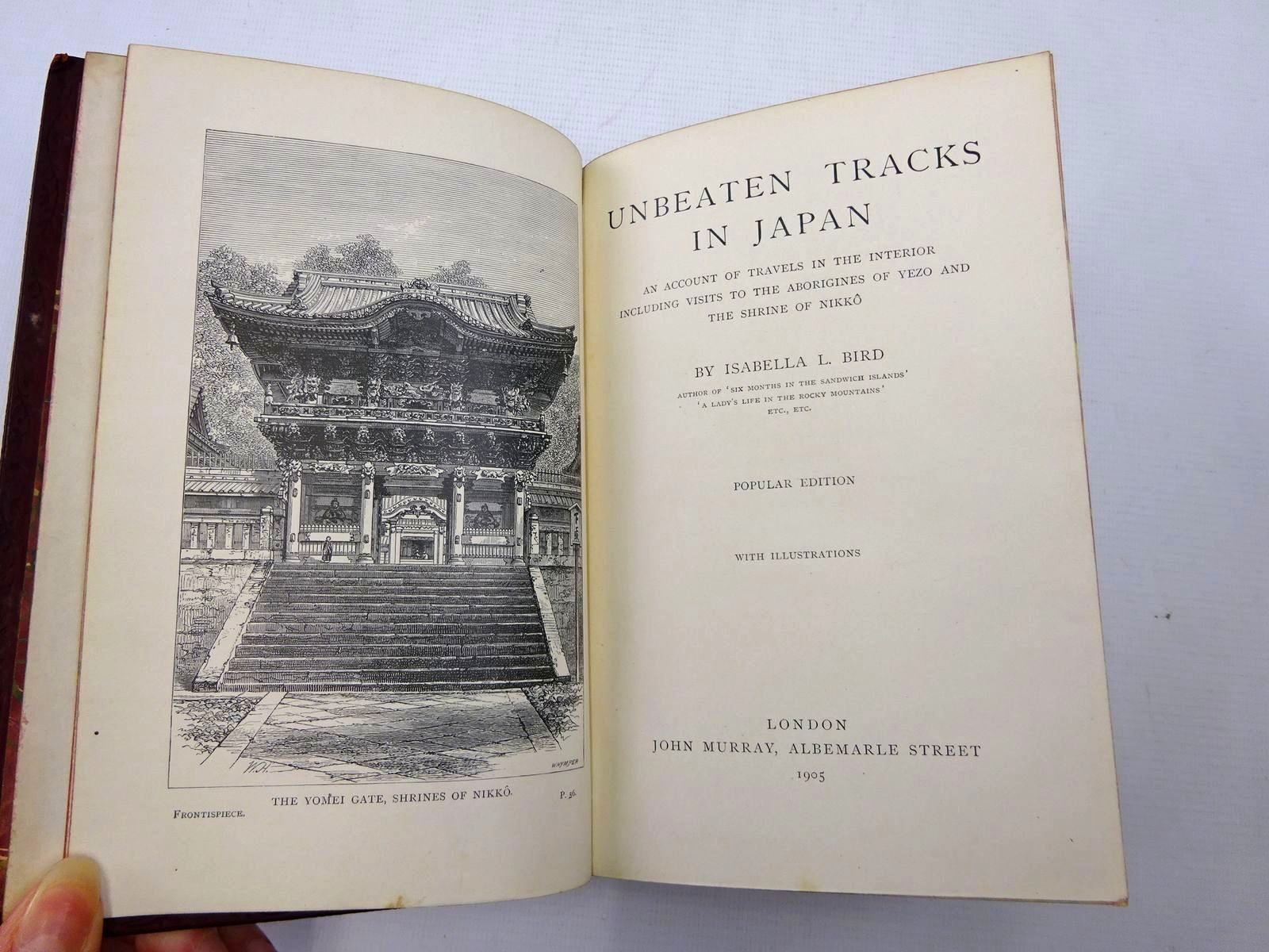 Photo of UNBEATEN TRACKS IN JAPAN written by Bird, Isabella L. published by John Murray (STOCK CODE: 2126388)  for sale by Stella & Rose's Books