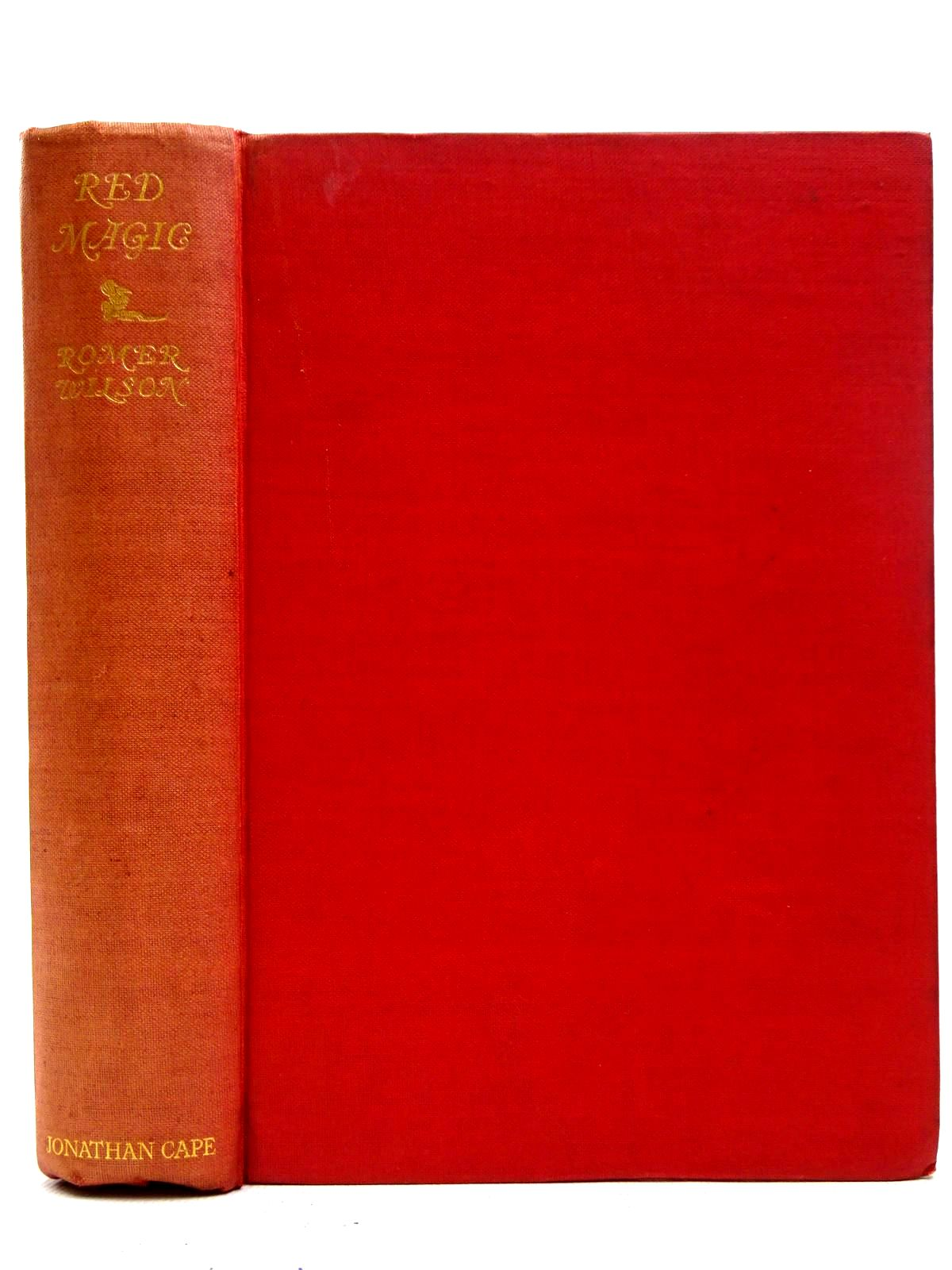Photo of RED MAGIC written by Wilson, Romer illustrated by Nielsen, Kay published by Jonathan Cape (STOCK CODE: 2126389)  for sale by Stella & Rose's Books