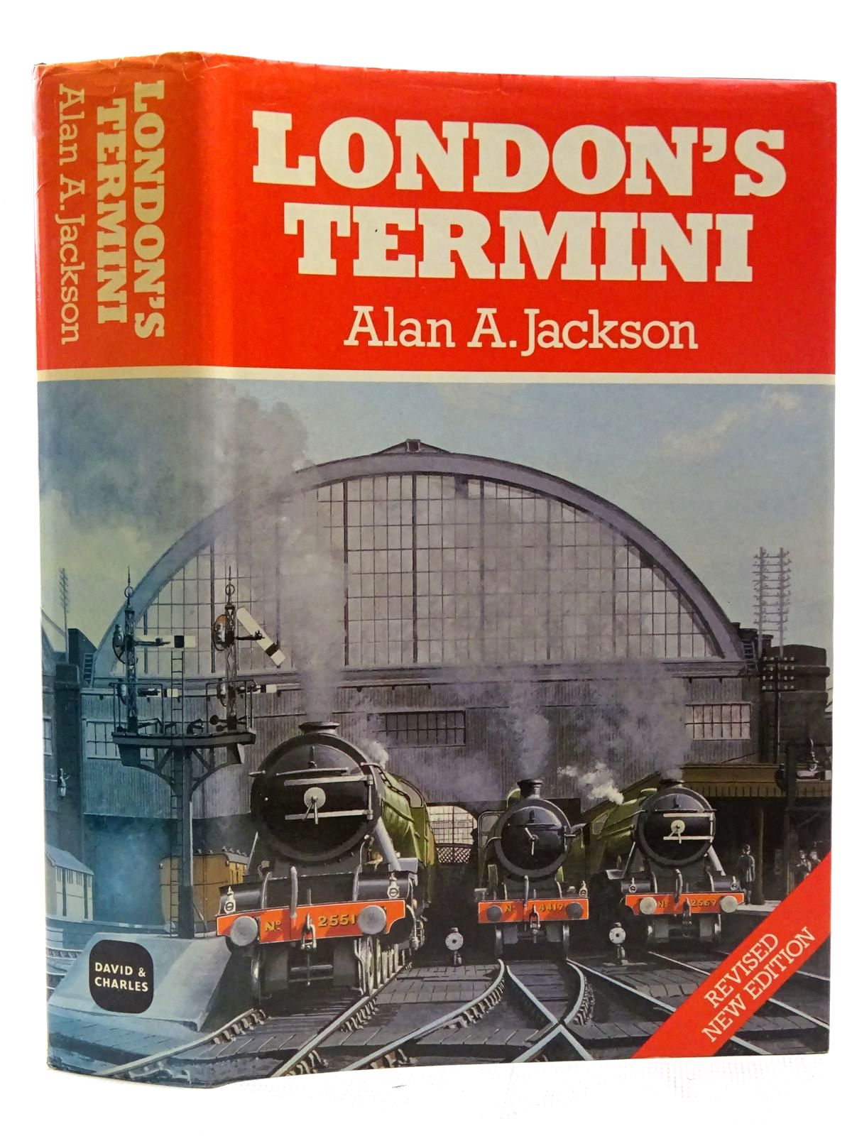 Photo of LONDON'S TERMINI written by Jackson, Alan A. published by David & Charles (STOCK CODE: 2126399)  for sale by Stella & Rose's Books
