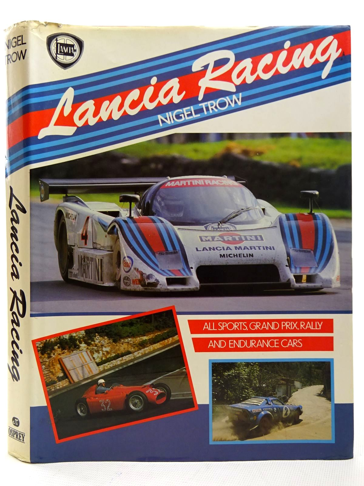 Photo of LANCIA RACING written by Trow, Nigel published by Osprey Publishing (STOCK CODE: 2126442)  for sale by Stella & Rose's Books
