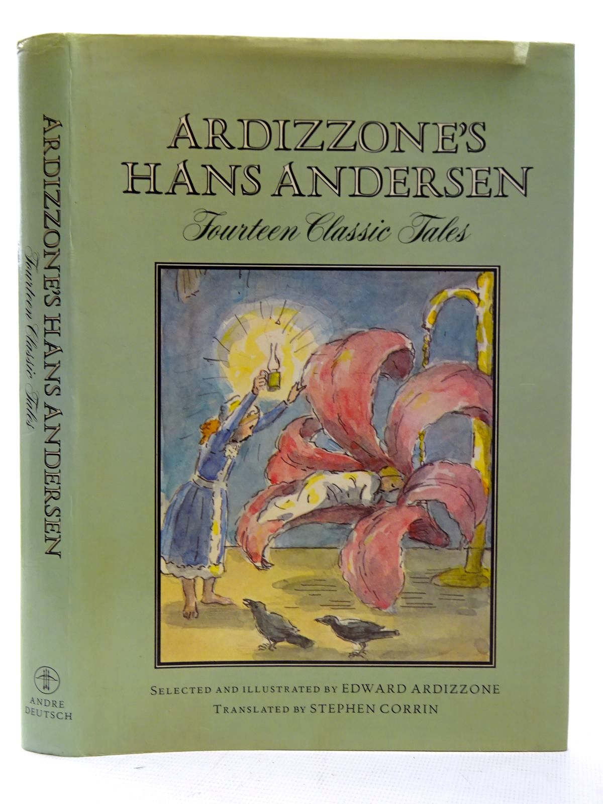 Photo of ARDIZZONE'S HANS ANDERSEN written by Andersen, Hans Christian<br />Corrin, Stephen illustrated by Ardizzone, Edward published by Andre Deutsch (STOCK CODE: 2126456)  for sale by Stella & Rose's Books