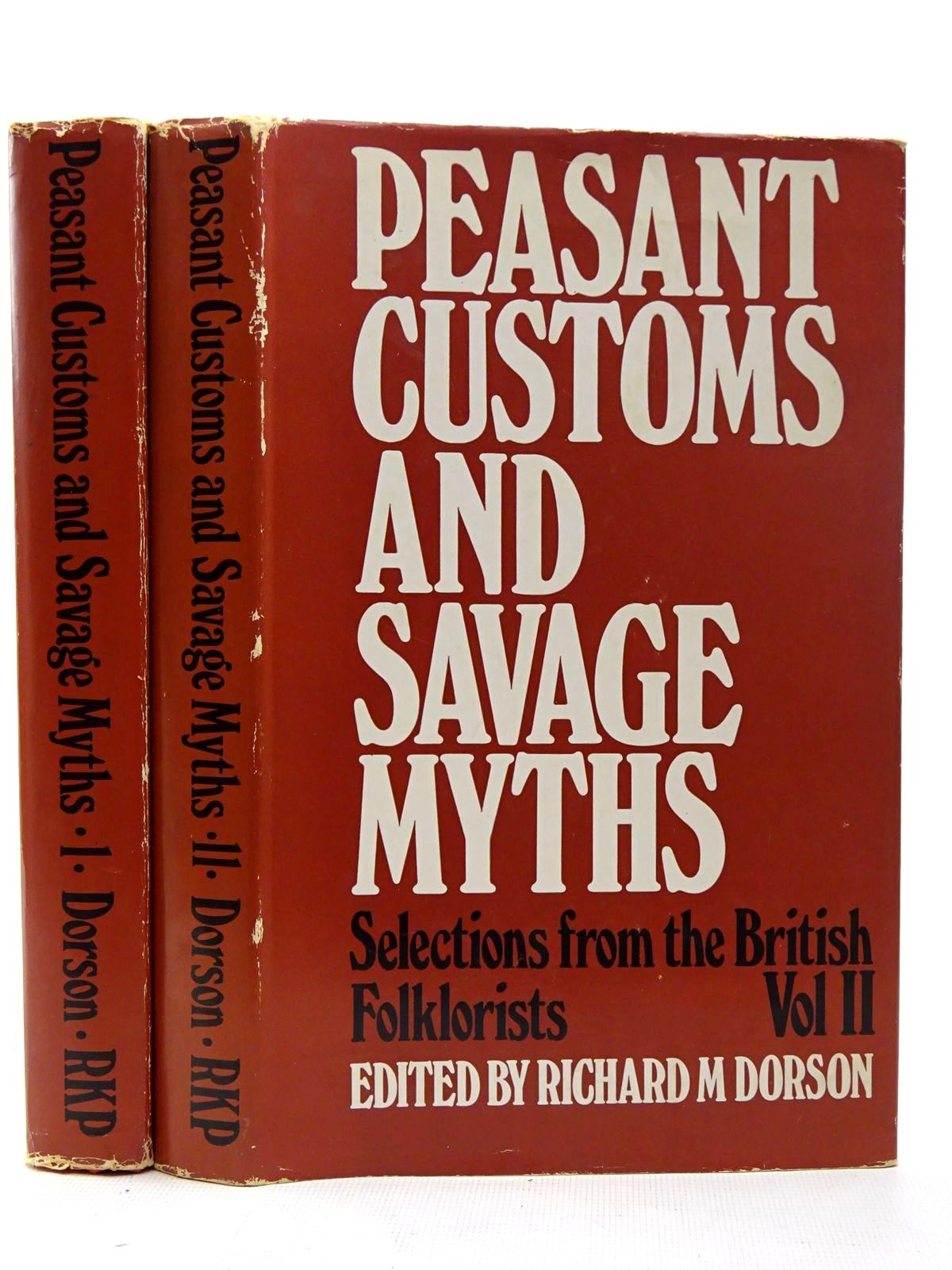 Photo of PEASANT CUSTOMS AND SAVAGE MYTHS (2 VOLUMES)